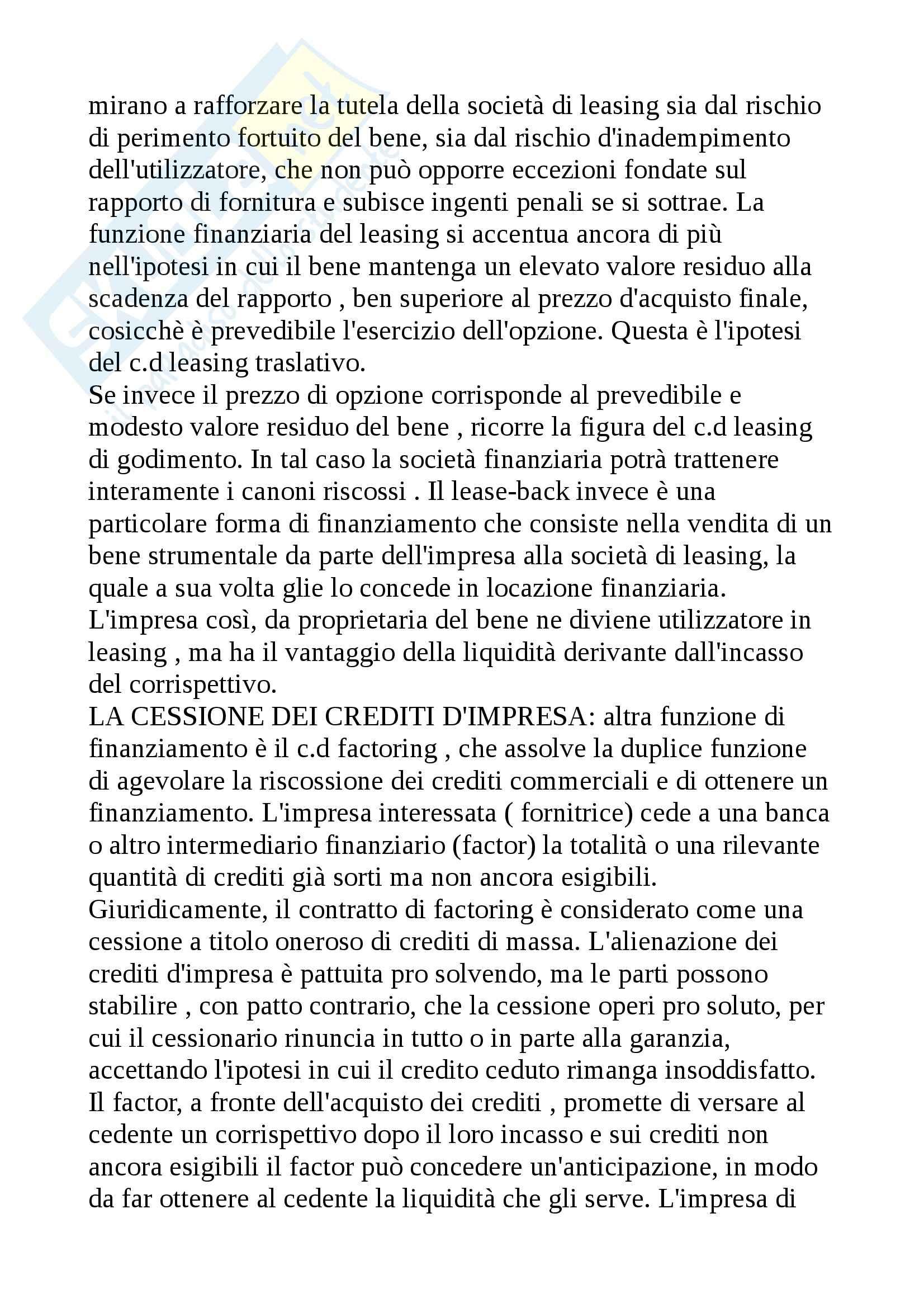 Diritto delle imprese, Diritto commerciale Pag. 36