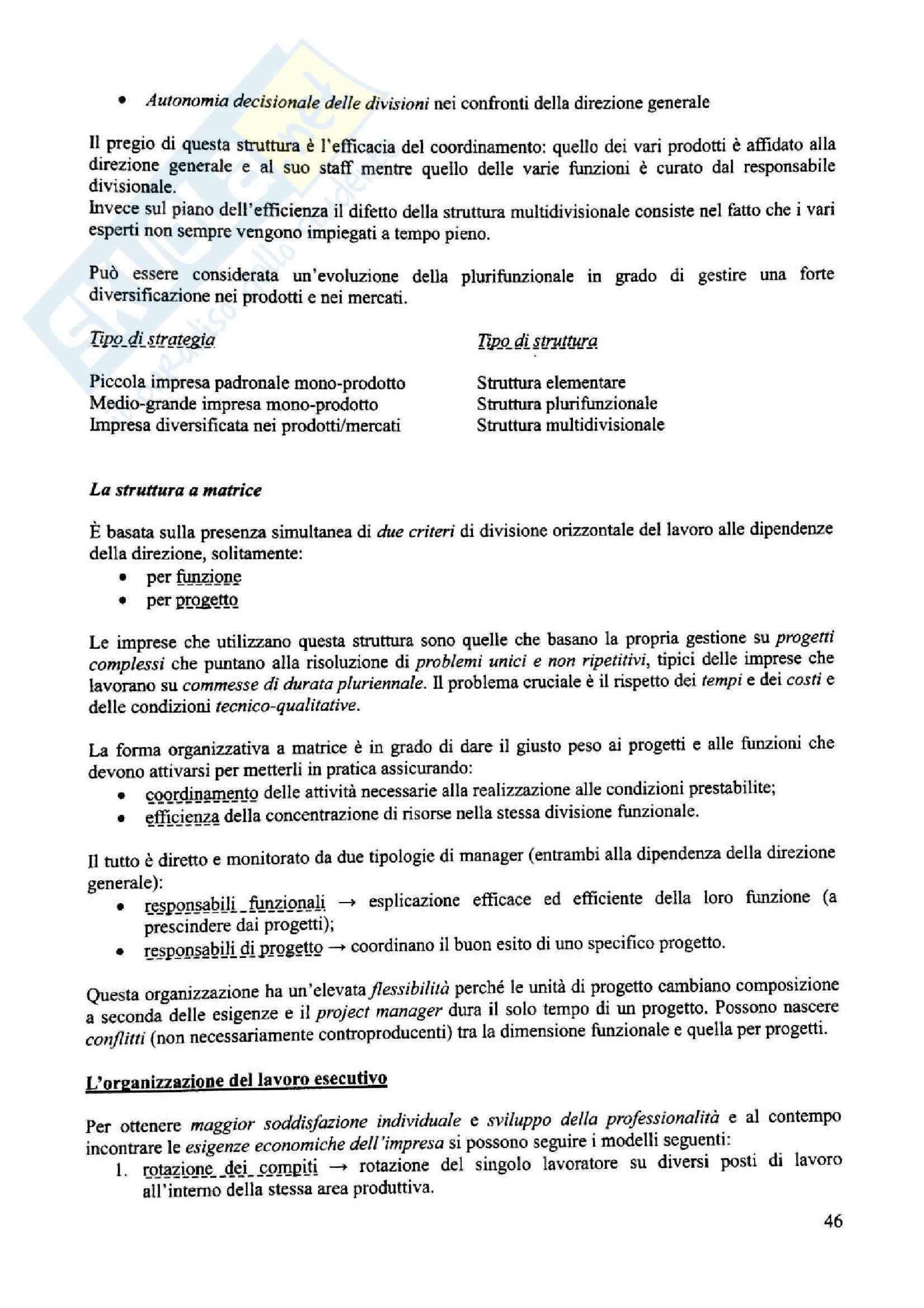 Appunti di economia aziendale, prof. Biancone Pag. 46