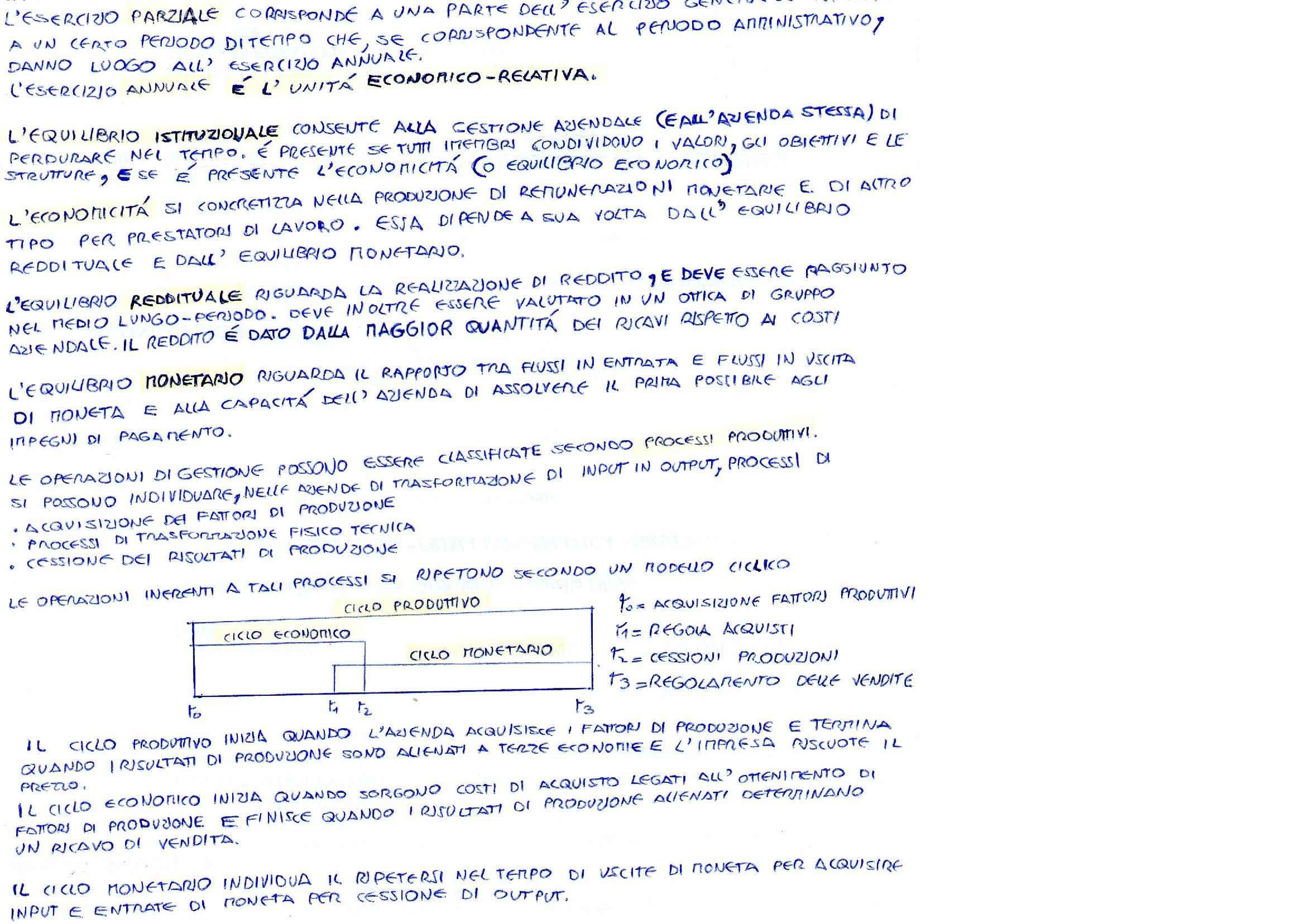 RIassunti di Economia aziendale, prof. Sotti Pag. 2
