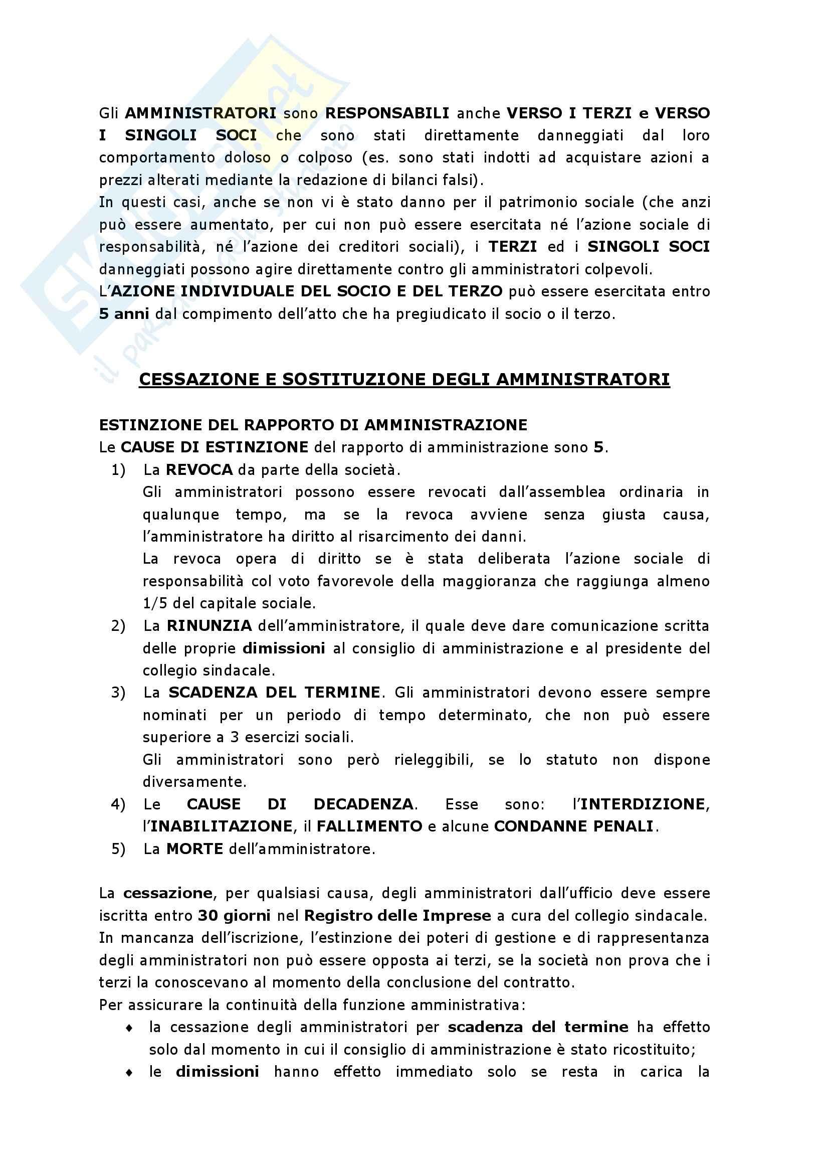 Riassunto esame Diritto commerciale,, prof. Fabbio, libro consigliato Diritto Commerciale, Auletta, Salanitro Pag. 36