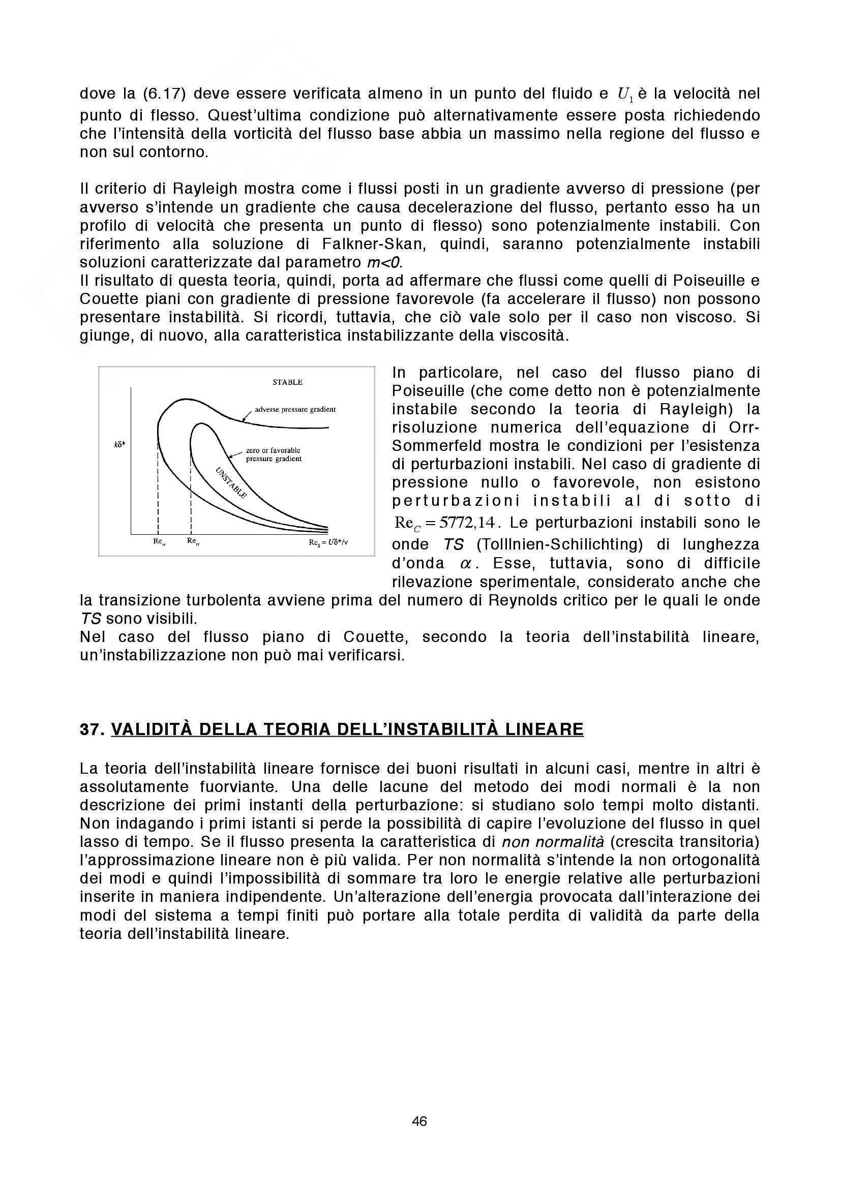 Lezioni: Appunti di Fluidodinamica Pag. 46