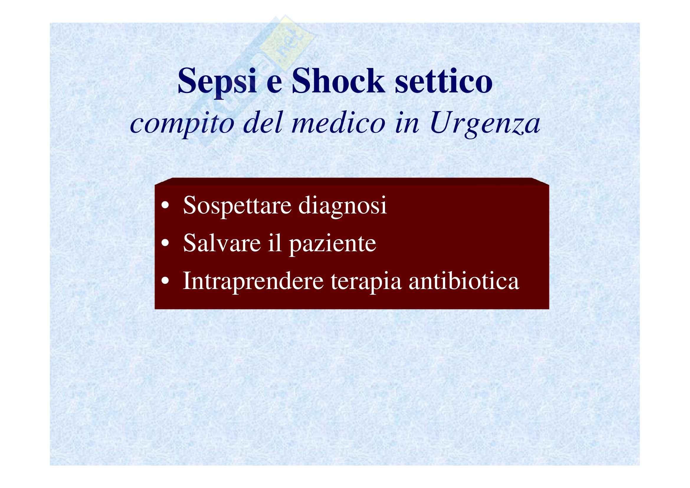 Emergenze medico-chirurgiche II - sepsi e shock settico prima parte Pag. 2