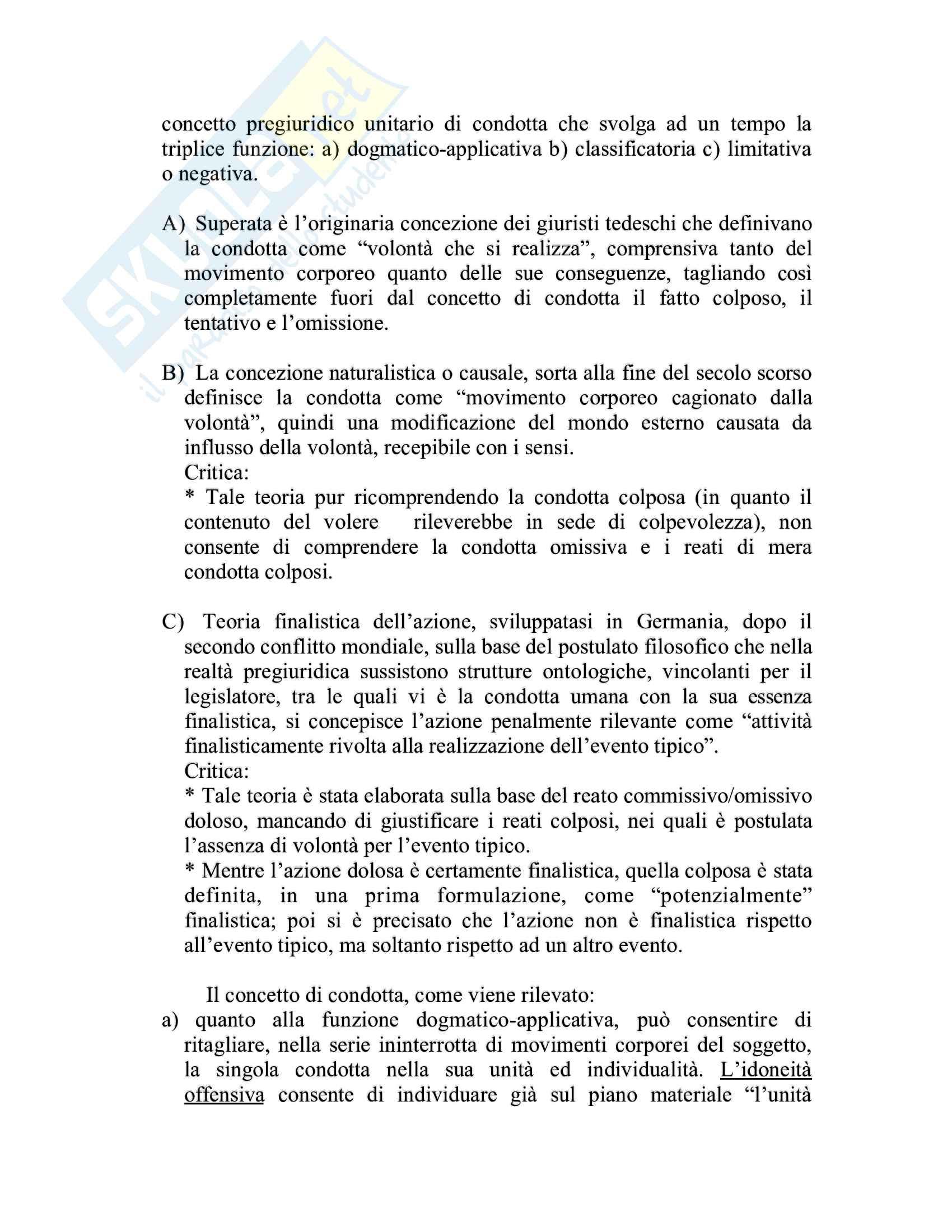 Riassunto esame Diritto penale, prof. Piergallini, libro consigliato Diritto penale, Mantovani Pag. 16