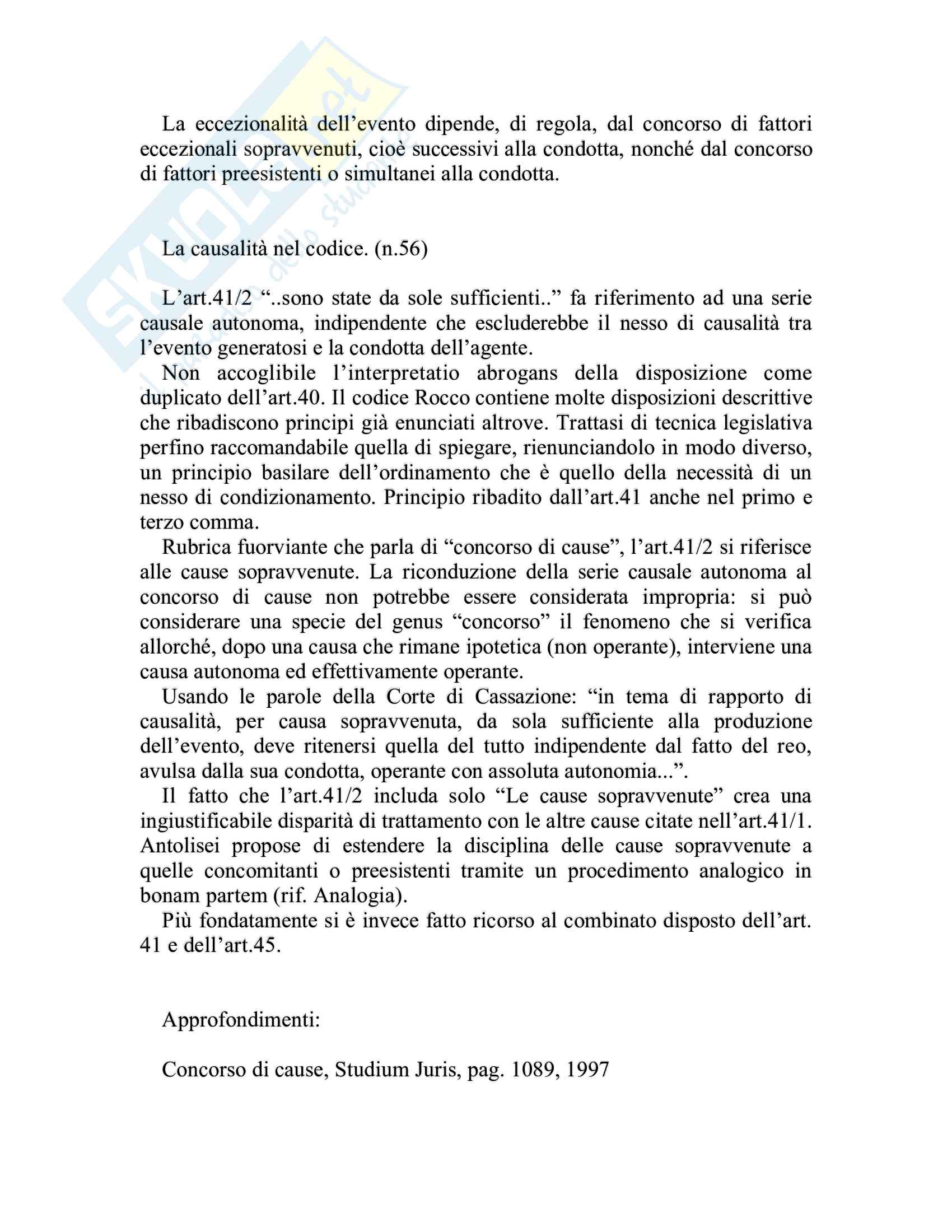 Riassunto esame Diritto penale, prof. Piergallini, libro consigliato Diritto penale, Mantovani Pag. 26