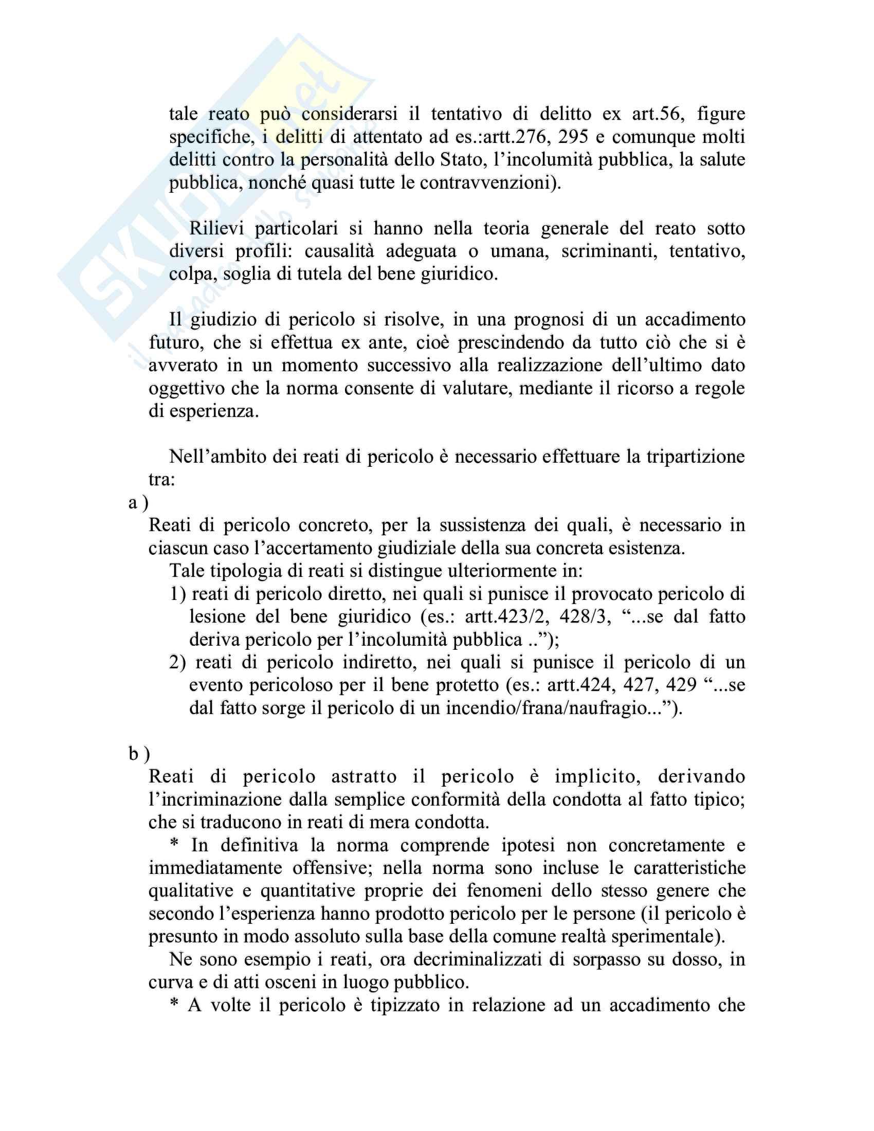 Riassunto esame Diritto penale, prof. Piergallini, libro consigliato Diritto penale, Mantovani Pag. 36