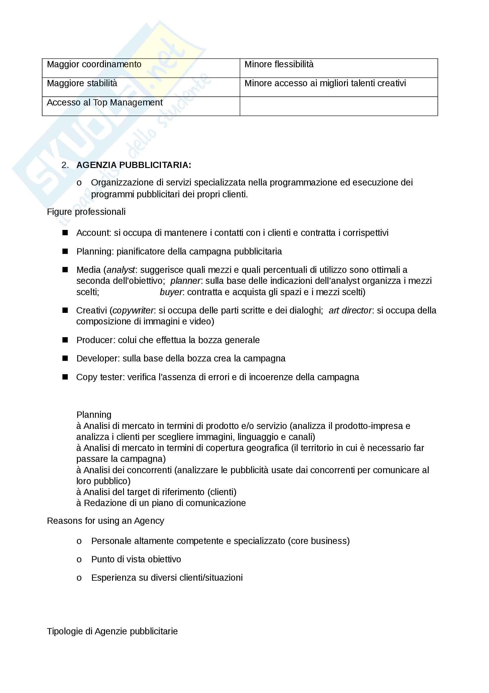 Tecnica della Comunicazione Aziendale (Risorse Immateriali) Pag. 16