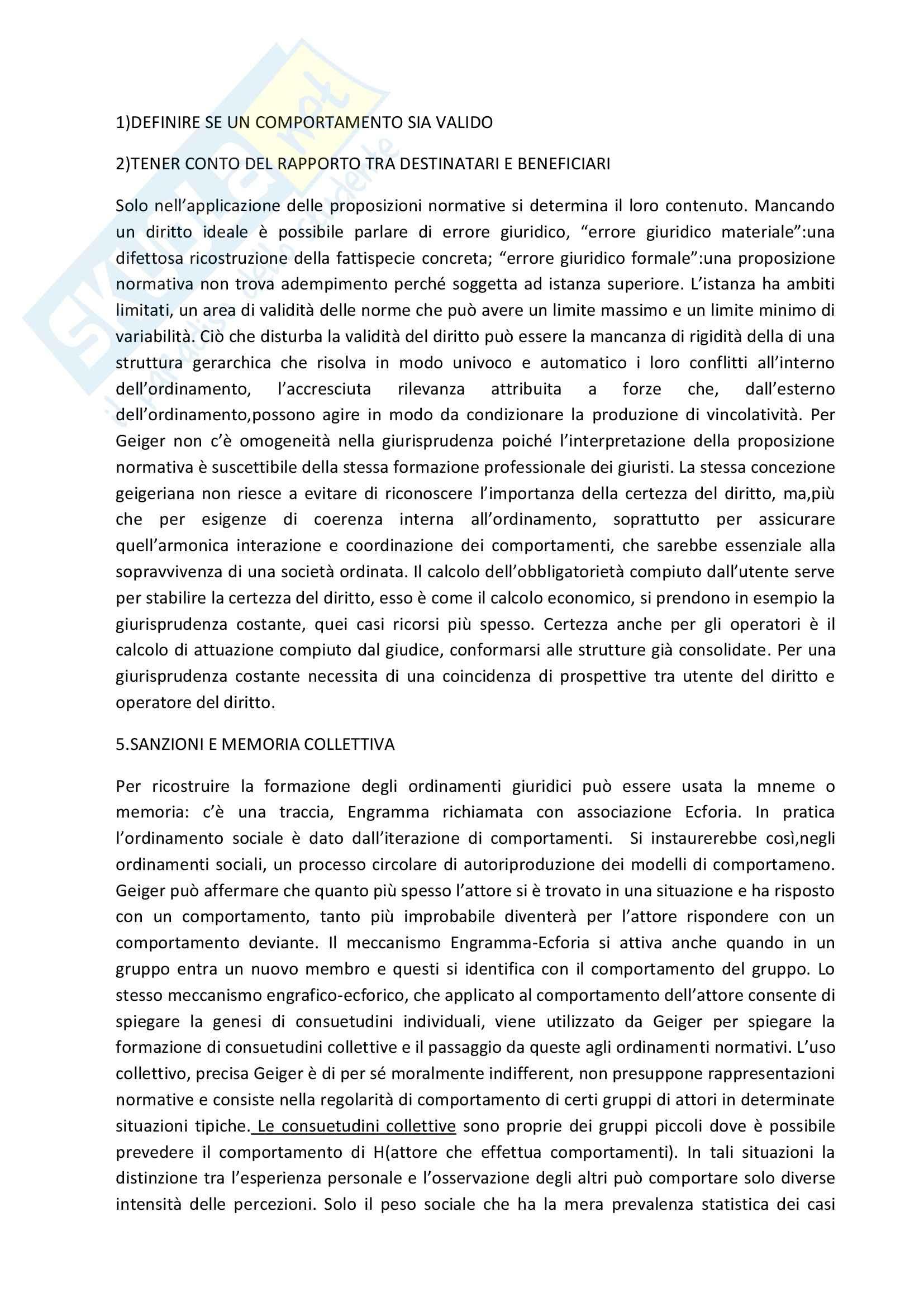 Sociologia del diritto Pag. 11