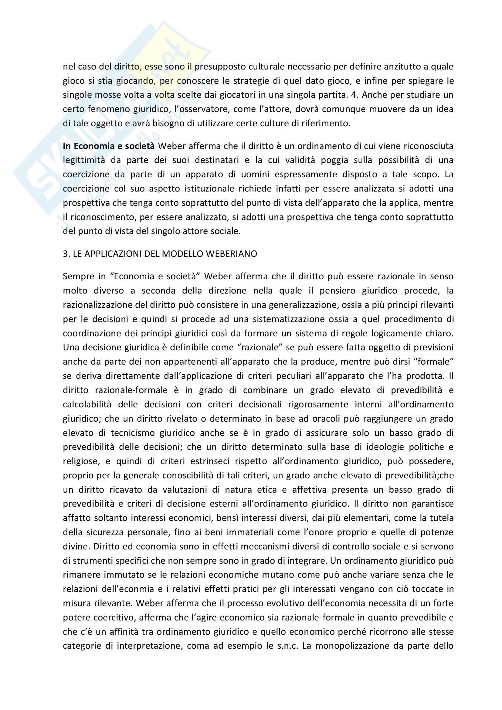 Sociologia del diritto Pag. 6