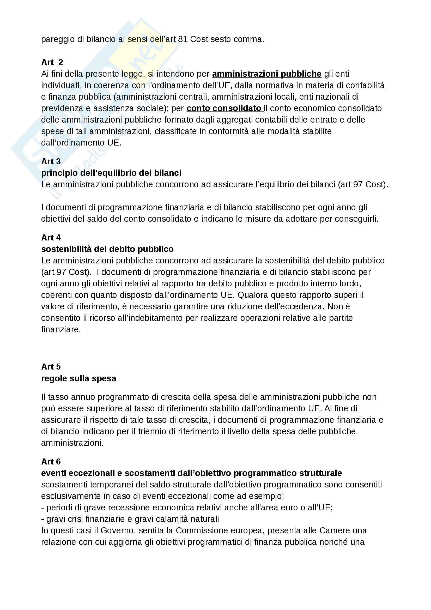 Lezioni, Contabilità pubblica Pag. 16