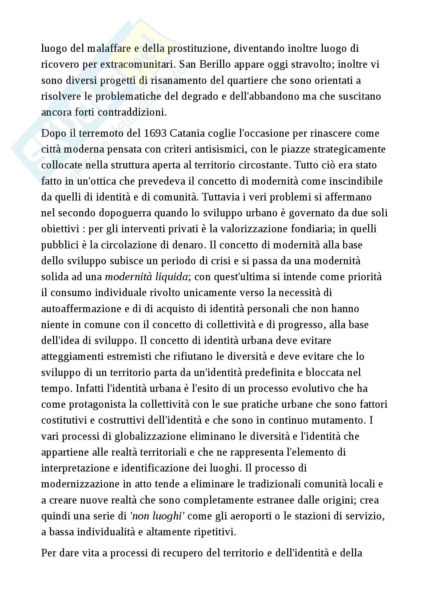 Riassunto esame geography, prof Zignale, libro consigliato Urban Cultural Map, Andrea D'Urso Pag. 6