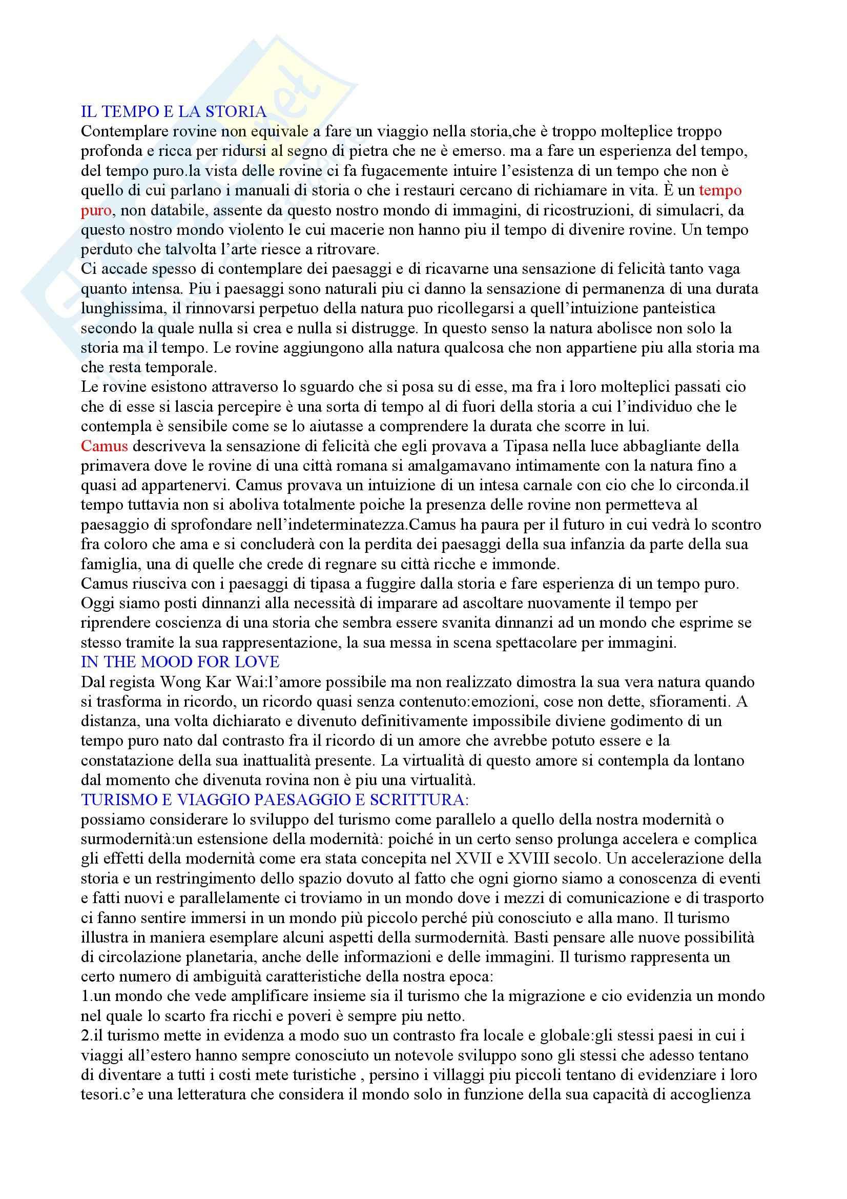 Riassunto esame Antropologia Culturale, prof. Moro, libro consigliato Rovine e Macerie, Augè Pag. 2