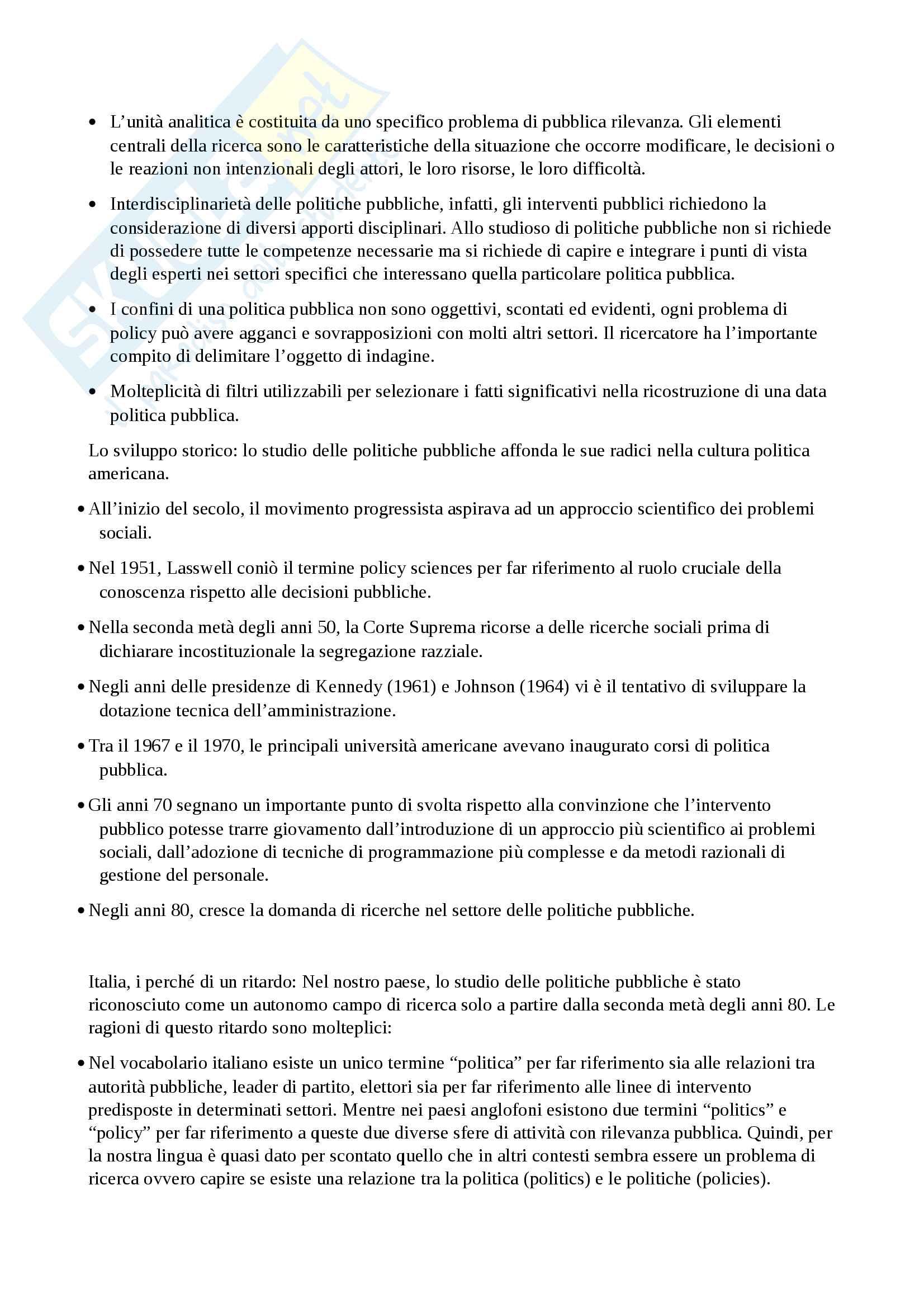 Amministrazione e politiche pubbliche Pag. 16
