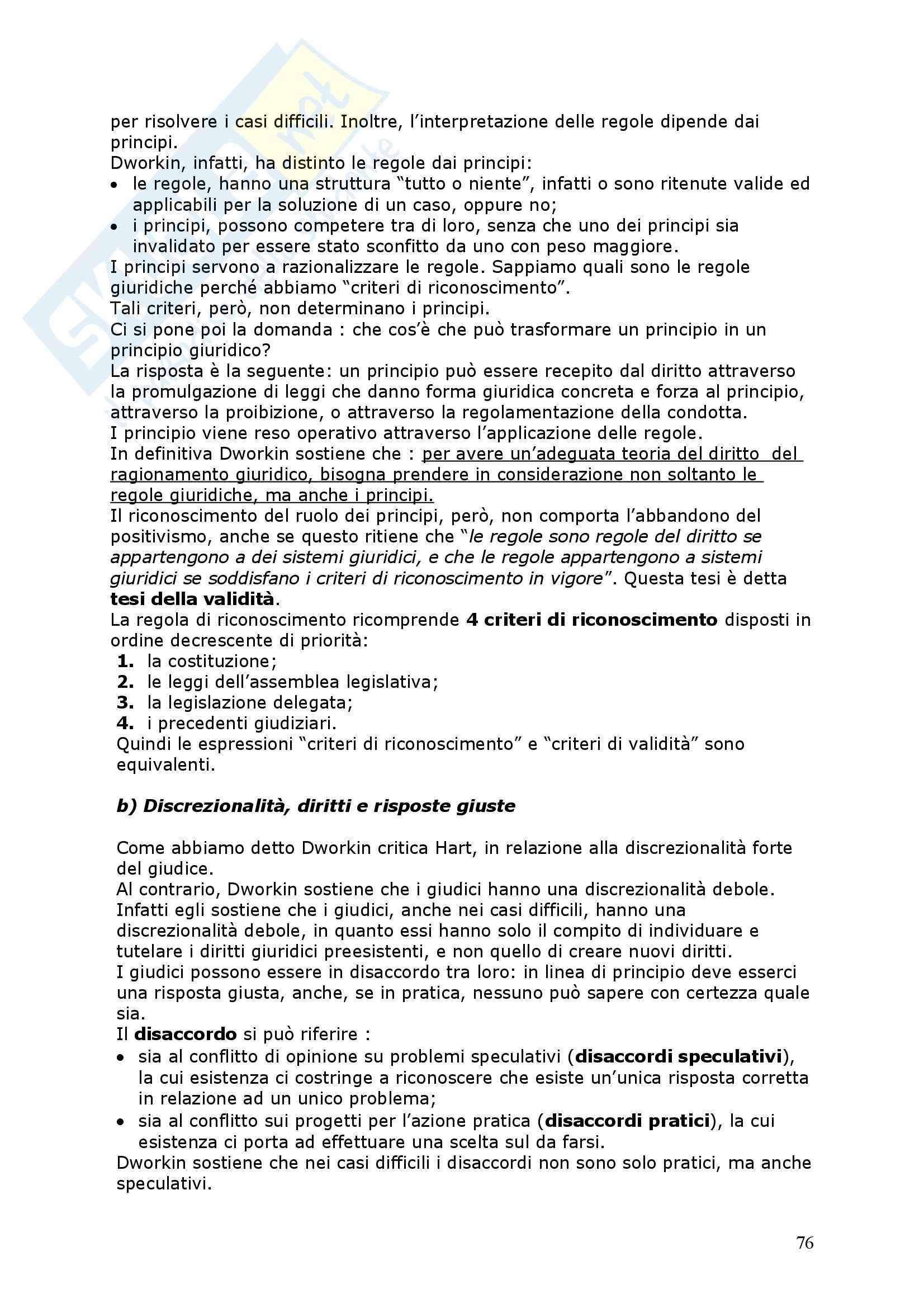 Positivismo giuridico ed ermeneutica filosofica Pag. 76