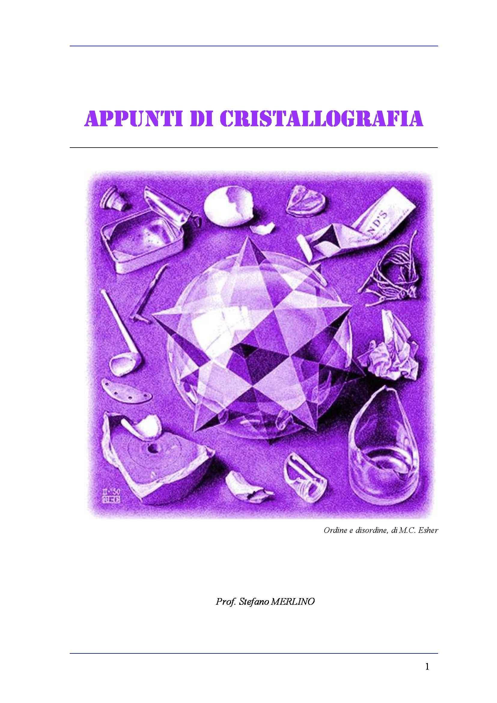 Cristallografia geometrica