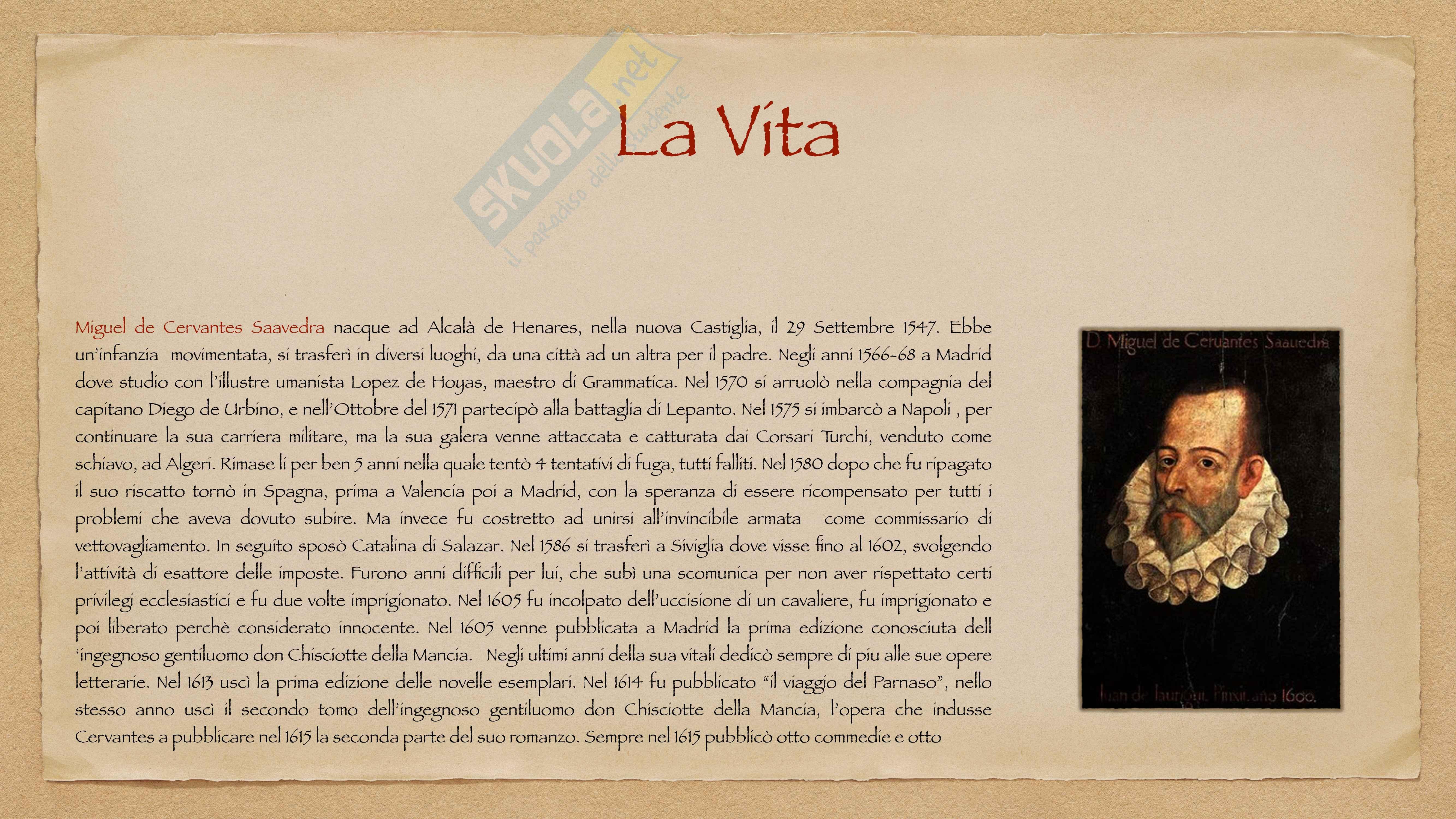 Miguel de Cervantes Saavedra Pag. 2