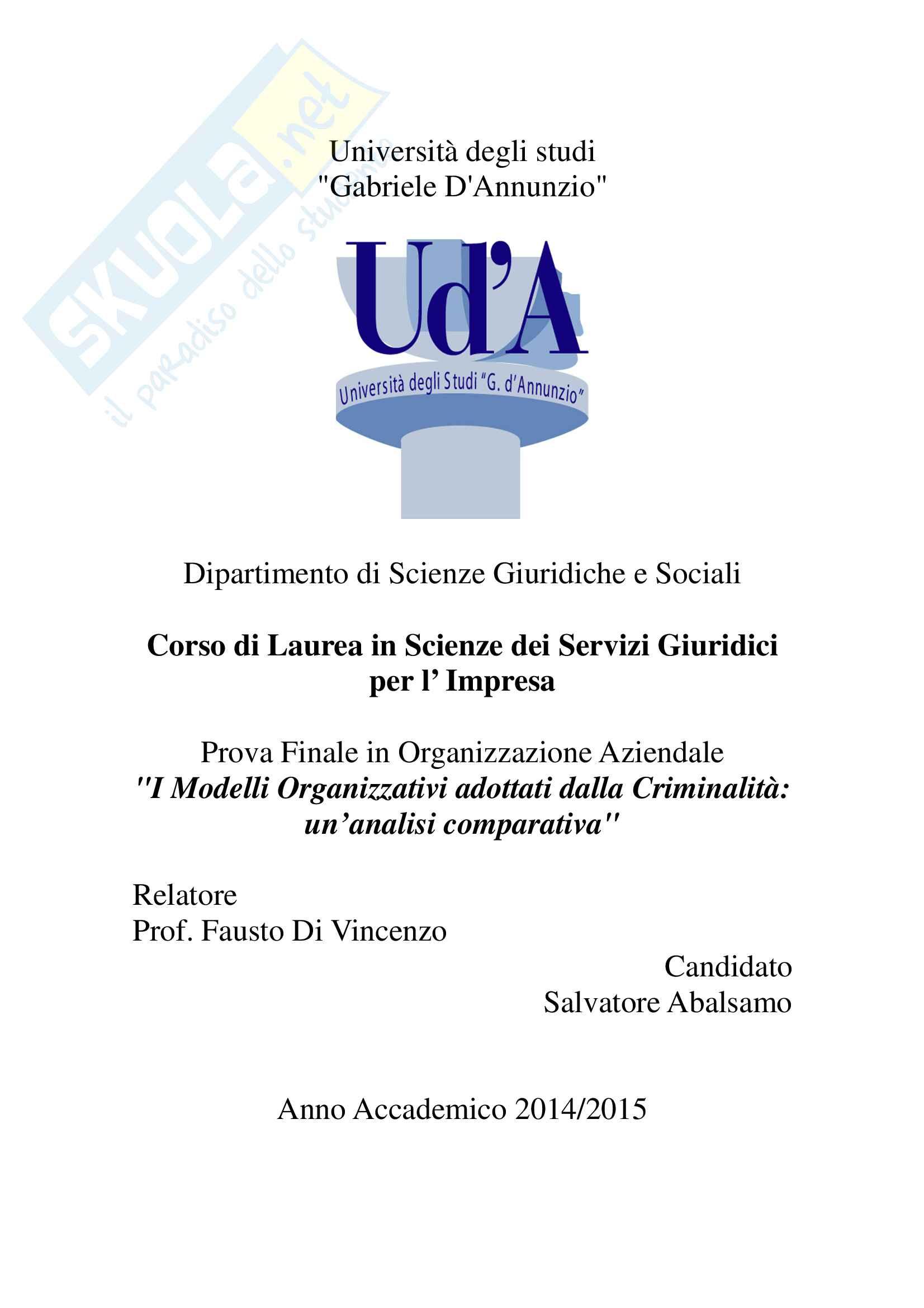 Tesi integrale Laurea Salvatore Abalsamo Luglio 2015 in PDF