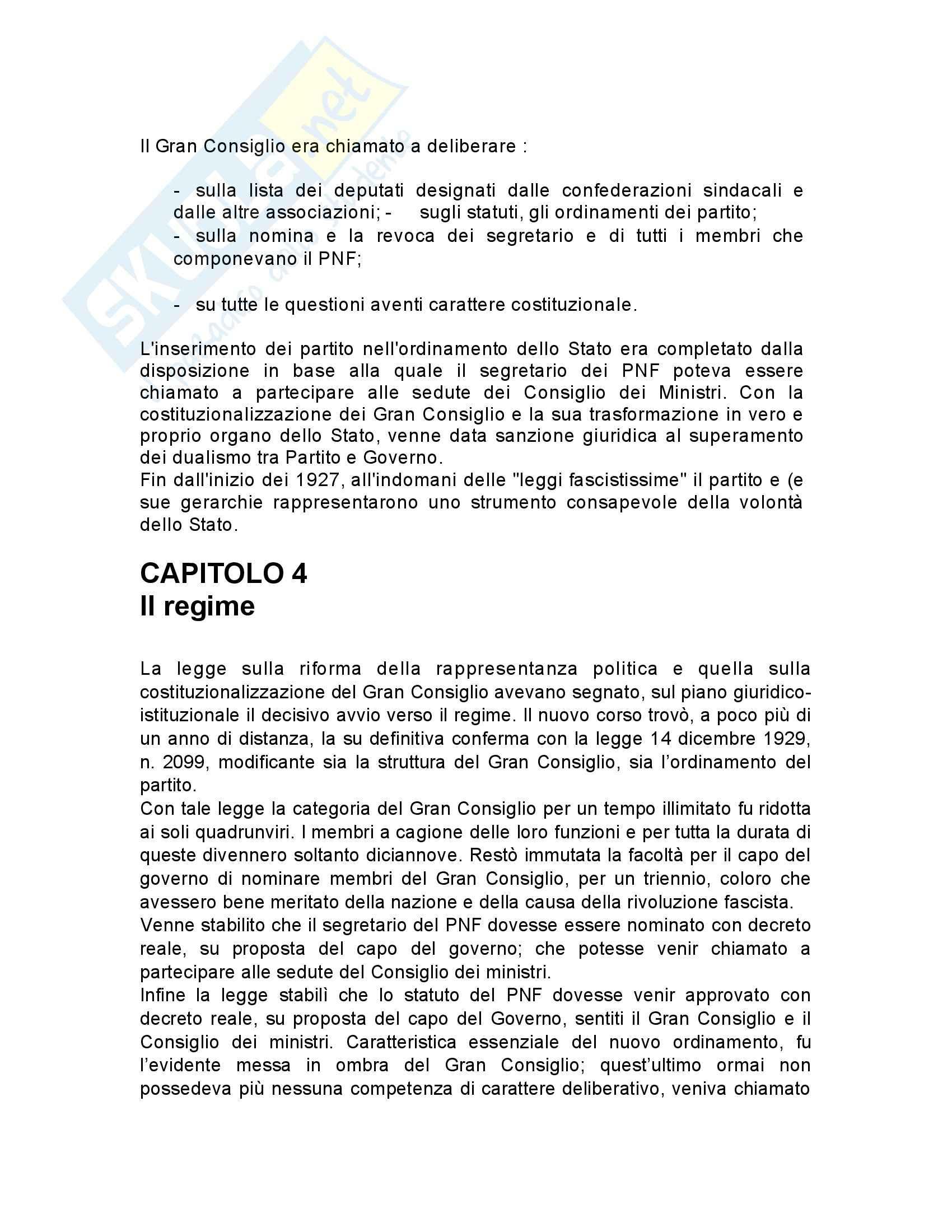 Riassunto esame Storia contemporanea, prof. Gagliani, libro consigliato L'organizzazione dello stato totalitario, Aquarone Pag. 16