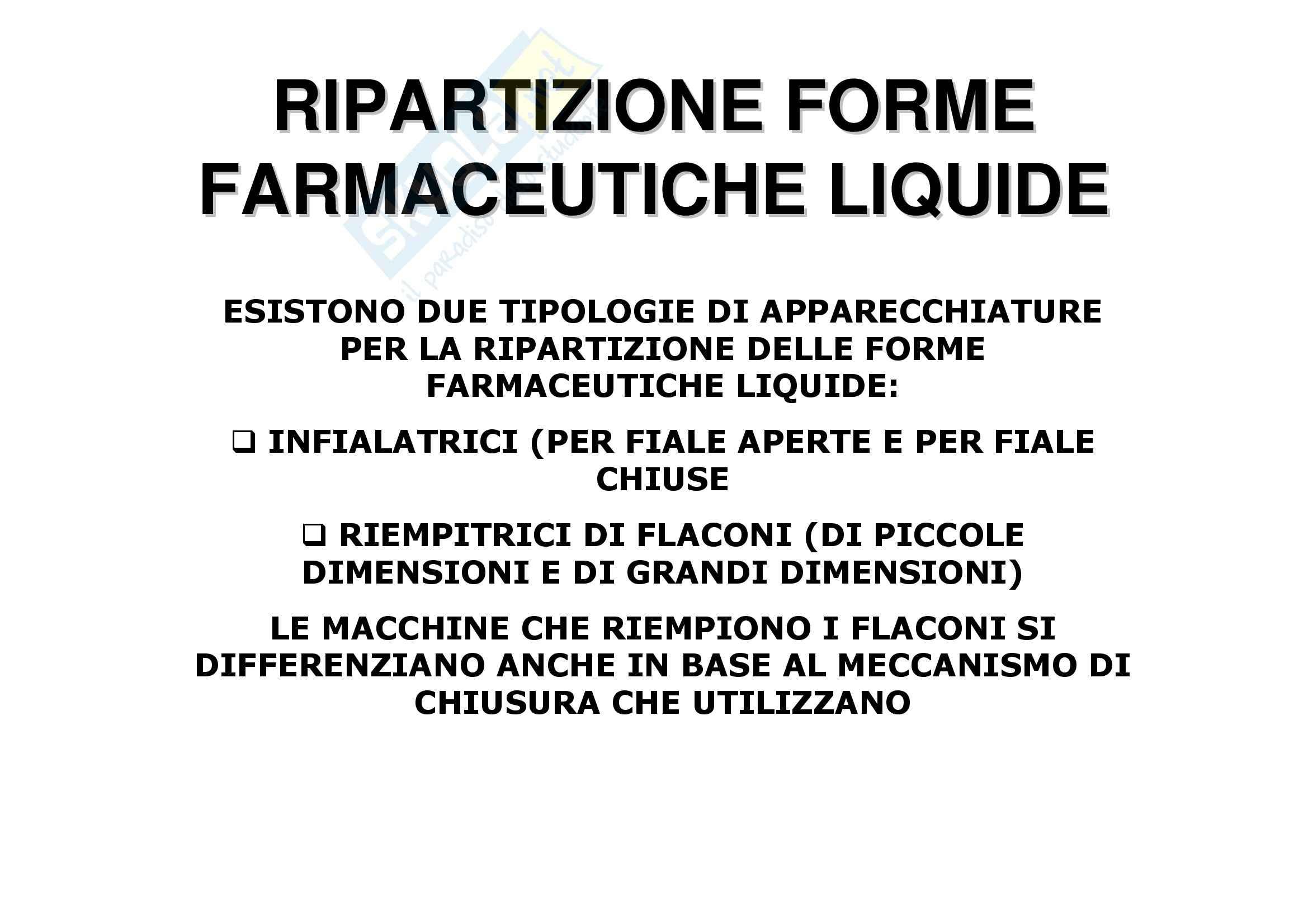 Tecnica farmaceutica - forme farmaceutiche liquide Pag. 21