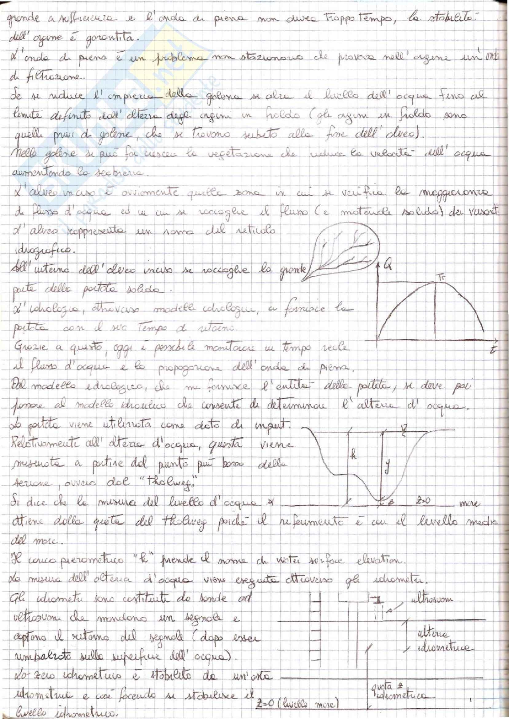 Idraulica Fluviale - Appunti Pag. 2