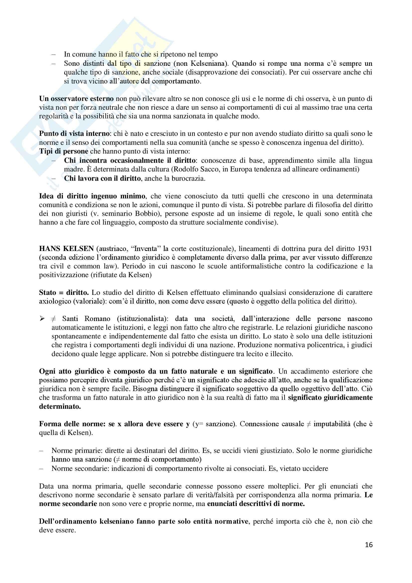 Filosofia del diritto - Appunti Pag. 16