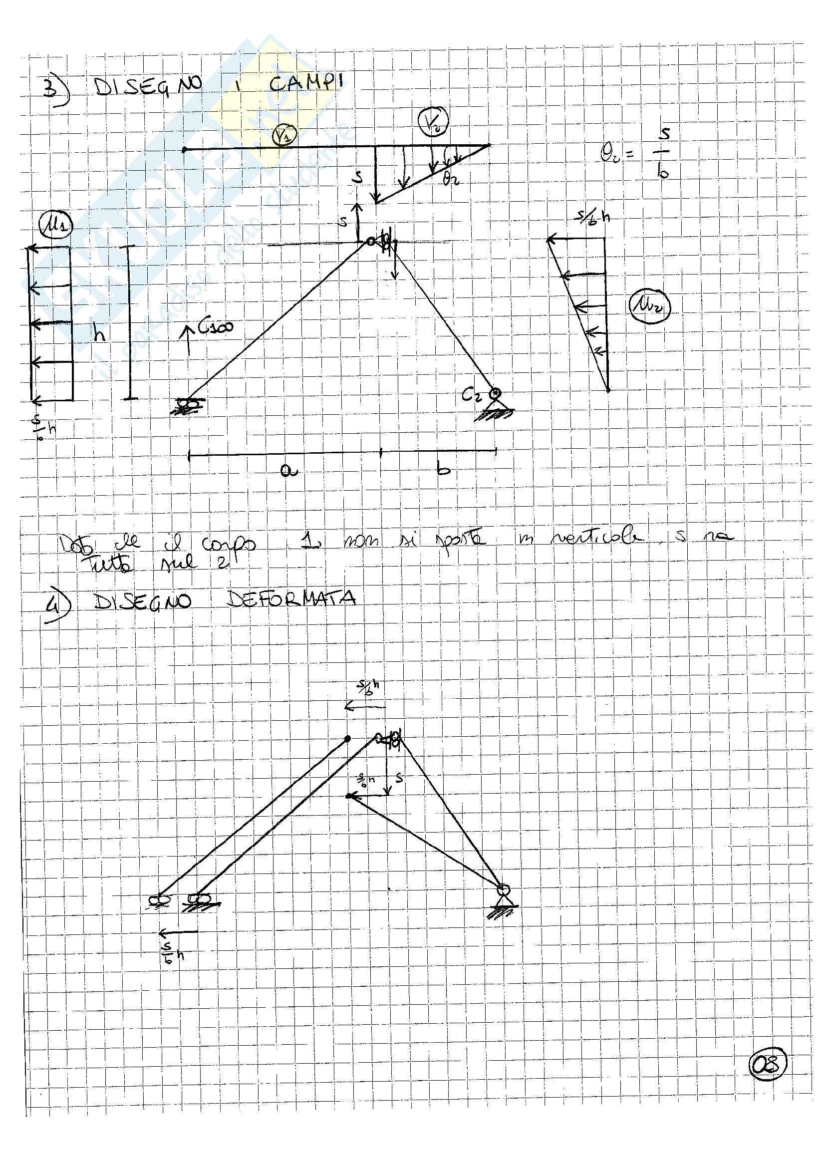 Statica: 21 esercizi svolti cinematica e statica dei corpi rigidi, Teorema dei lavori virtuali, strutture reticolari e geometria delle aree Pag. 21