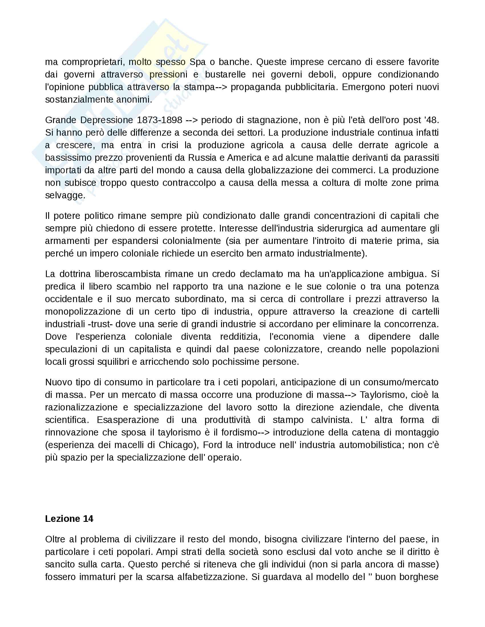Appunti Storia contemporanea I Pag. 11