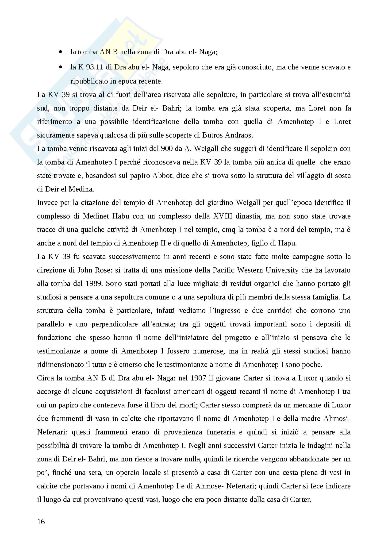 Egittologia: Appunti relativi al III modulo Pag. 16
