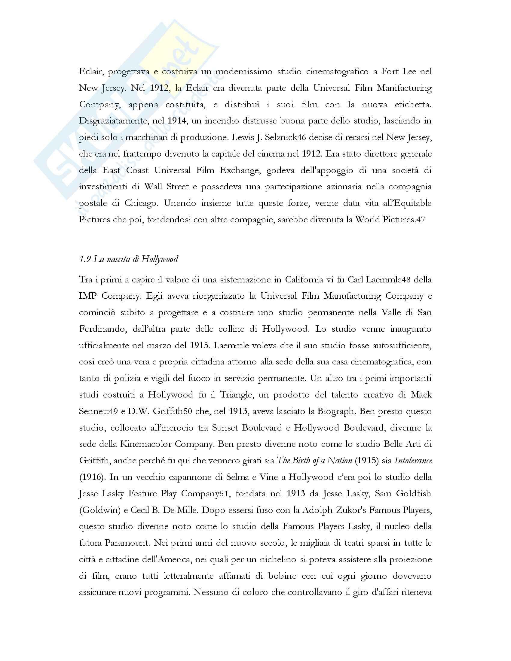 Produzione cinematografica degli Stati Uniti, Teorie e tecniche Pag. 21