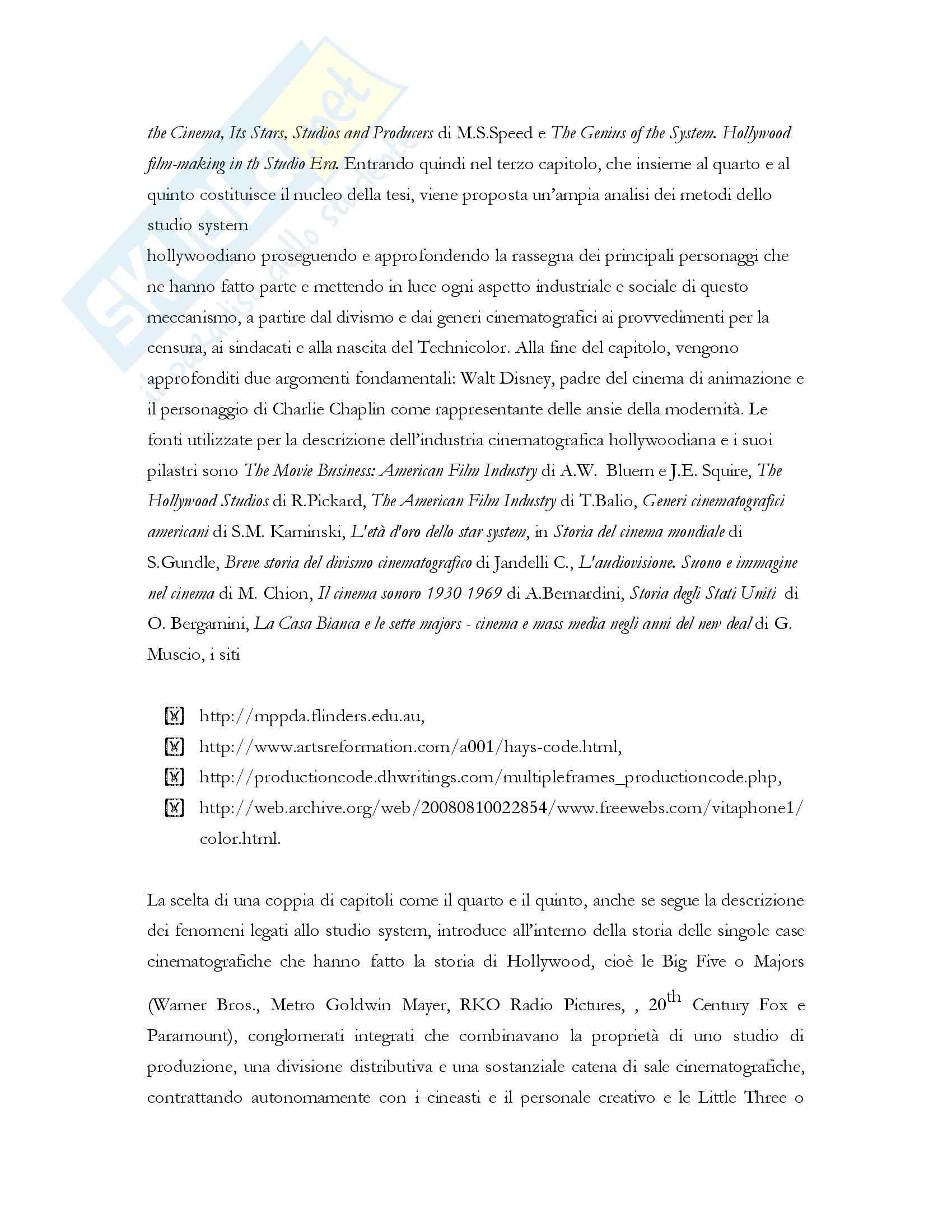 Produzione cinematografica degli Stati Uniti, Teorie e tecniche Pag. 6