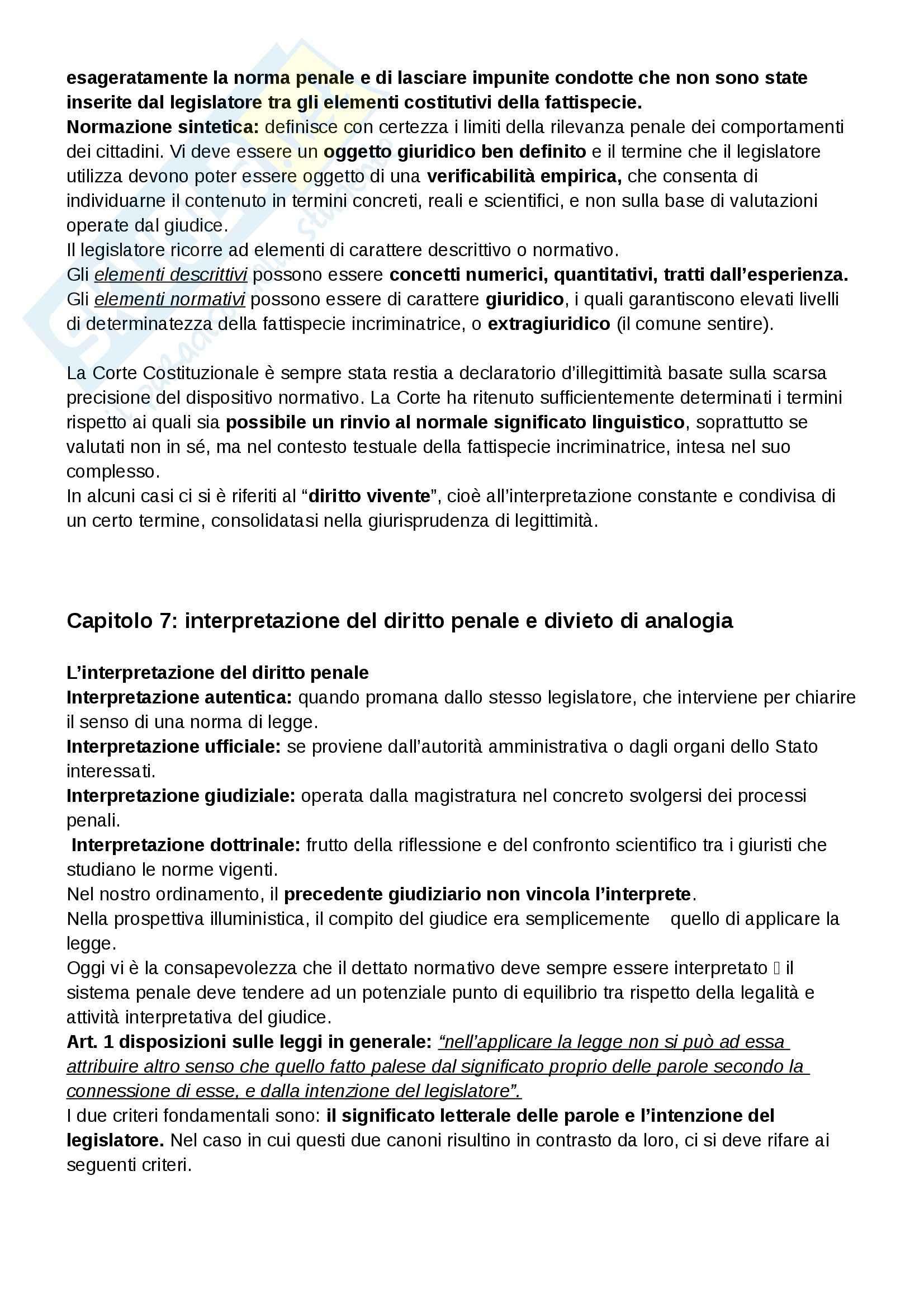 Riassunto esame Diritto Penale, prof. Falcinelli, libro consigliato Manuale di Diritto Penale - Parte generale, Grosso Pag. 16