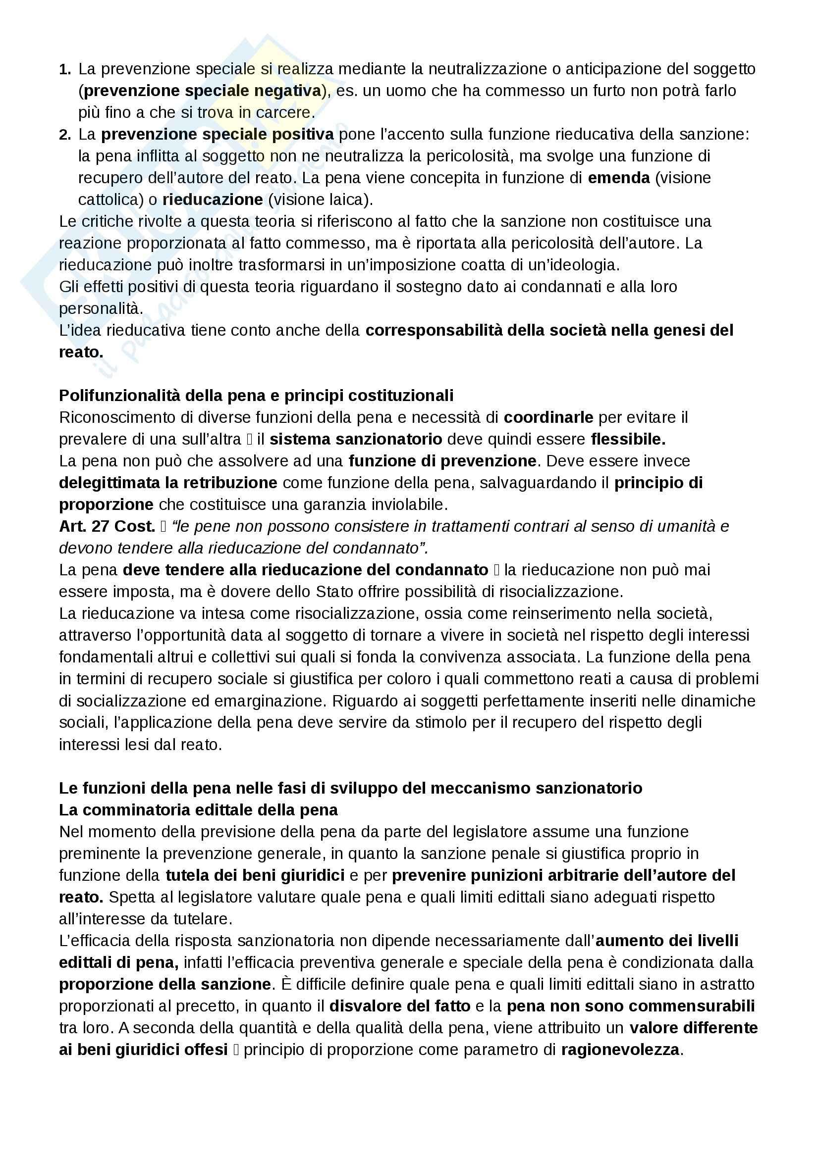 Riassunto esame Diritto Penale, prof. Falcinelli, libro consigliato Manuale di Diritto Penale - Parte generale, Grosso Pag. 56