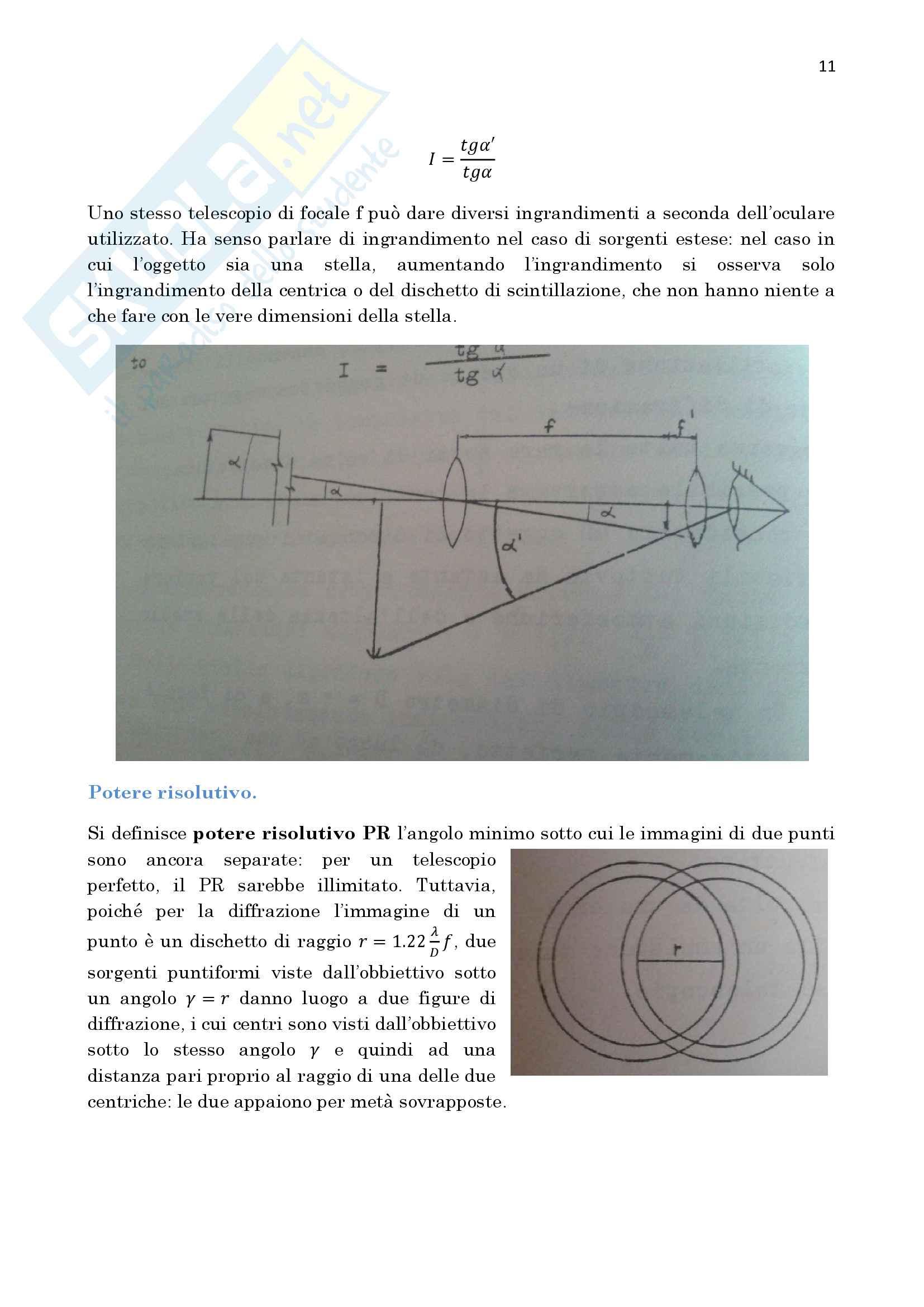 Astronomia Pag. 11