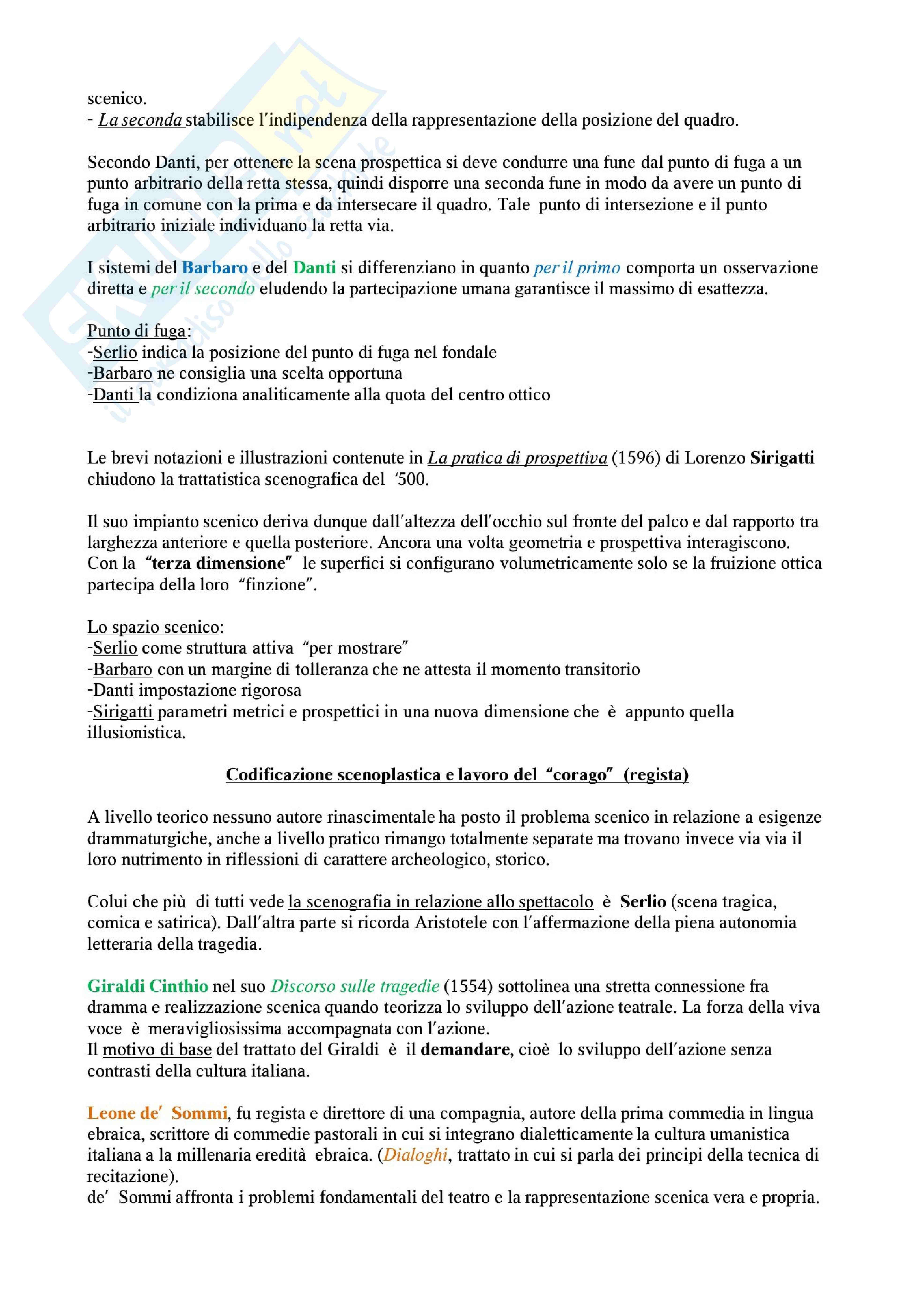 Riassunto esame Storia del teatro e dello spettacolo: la storia del teatro per immagini, prof. De Marinis Pag. 11