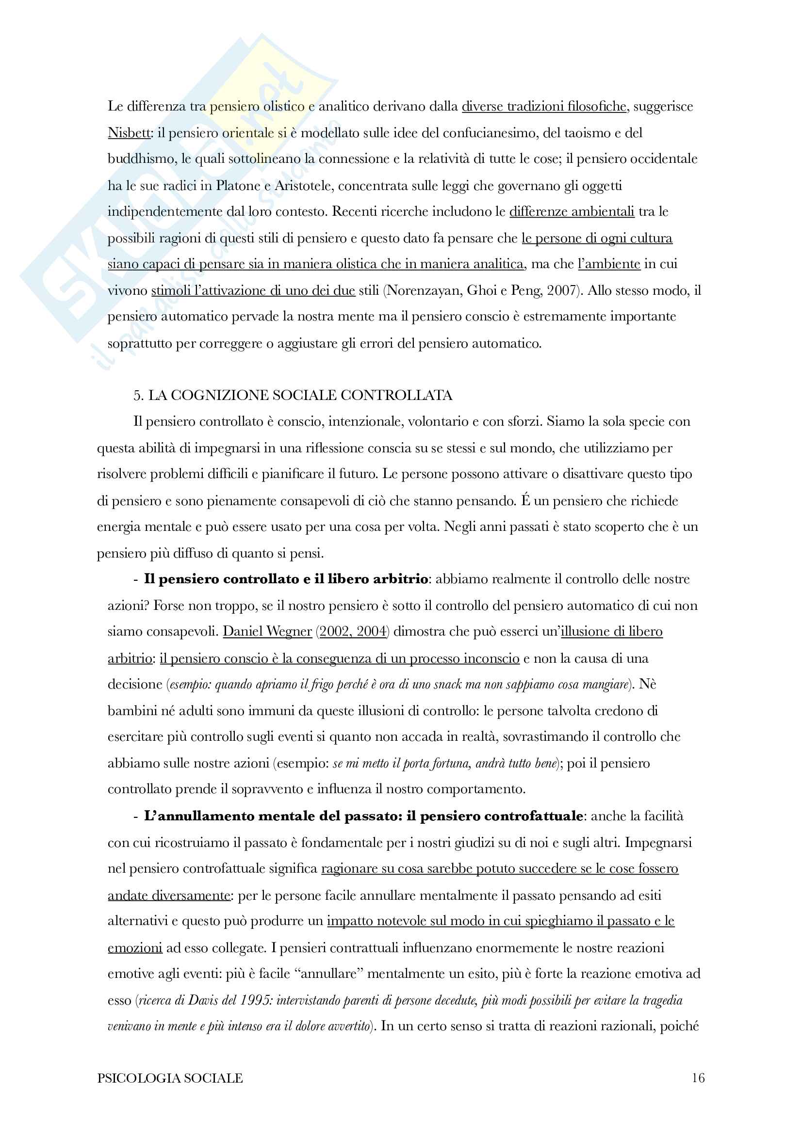 Riassunto di psicologia sociale Pag. 16