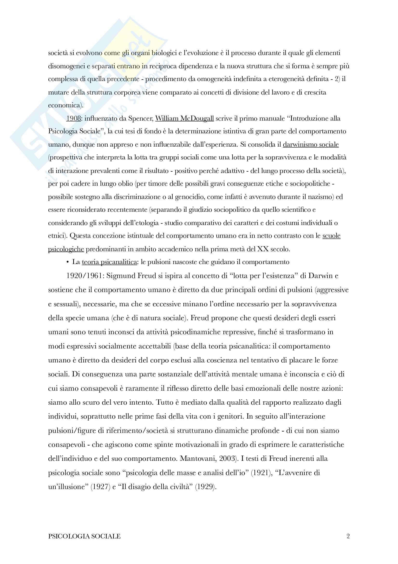 Riassunto di psicologia sociale Pag. 2