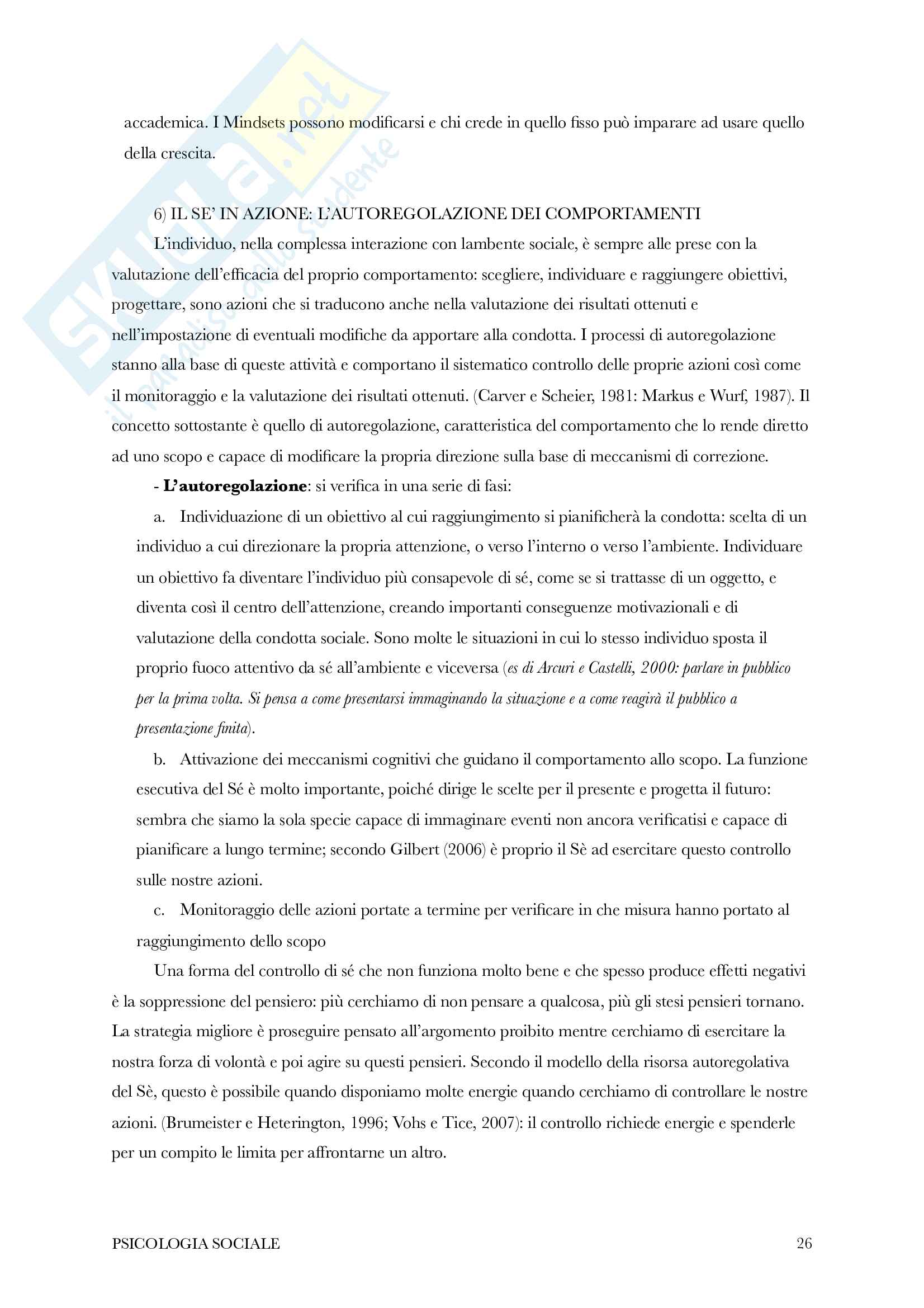 Riassunto di psicologia sociale Pag. 26
