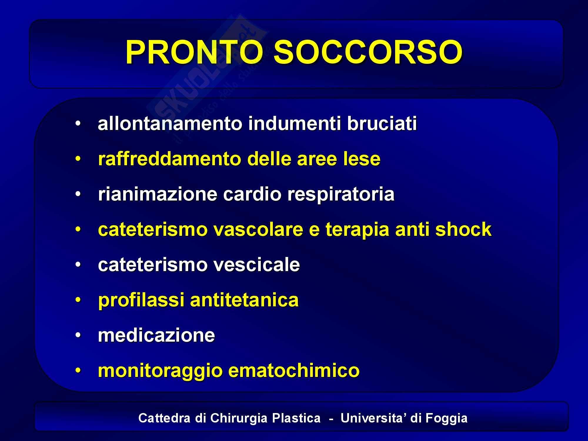 appunto A. Portincasa Chirurgia plastica