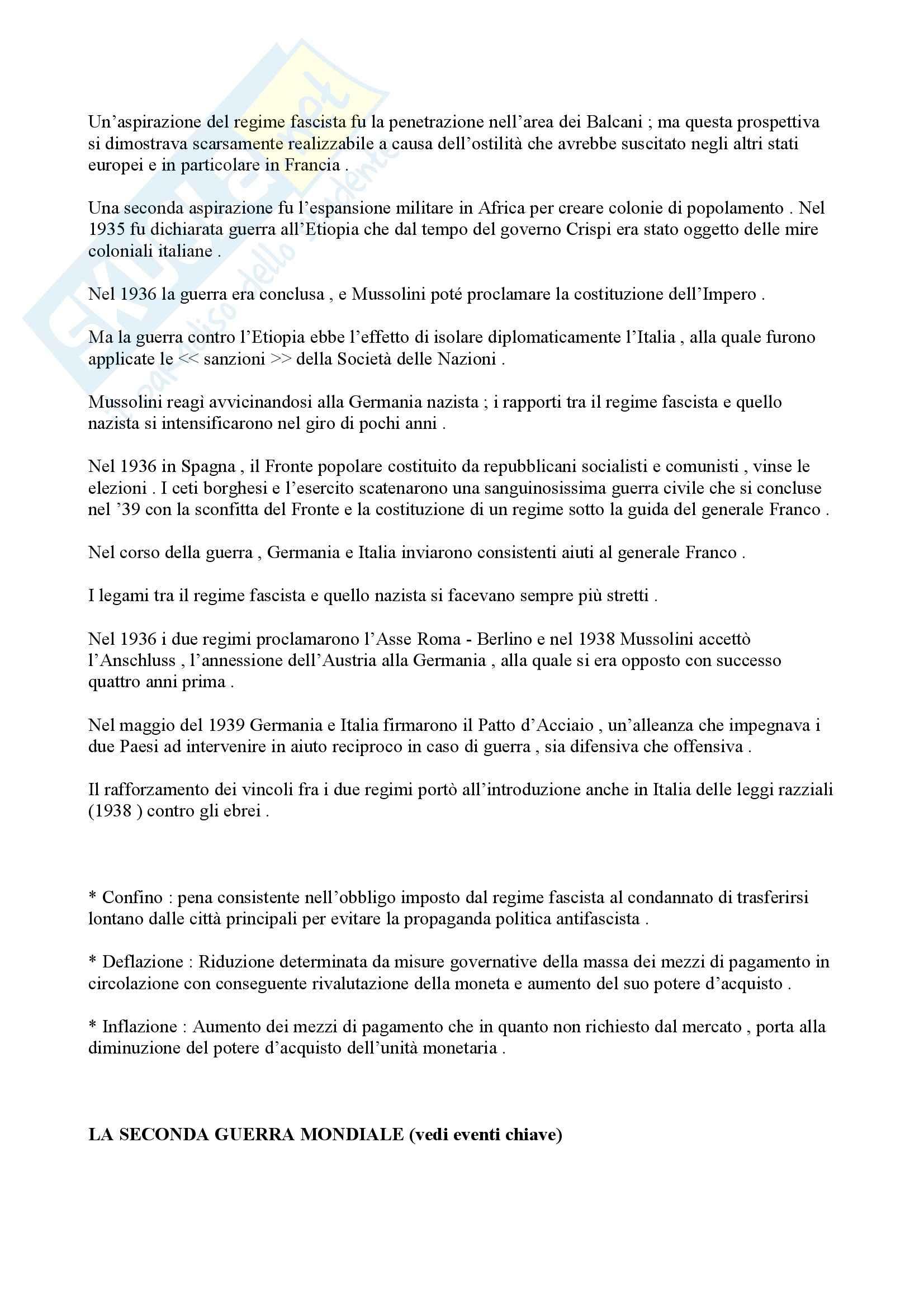 Storia contemporanea - l'unificazione d'Italia Pag. 21