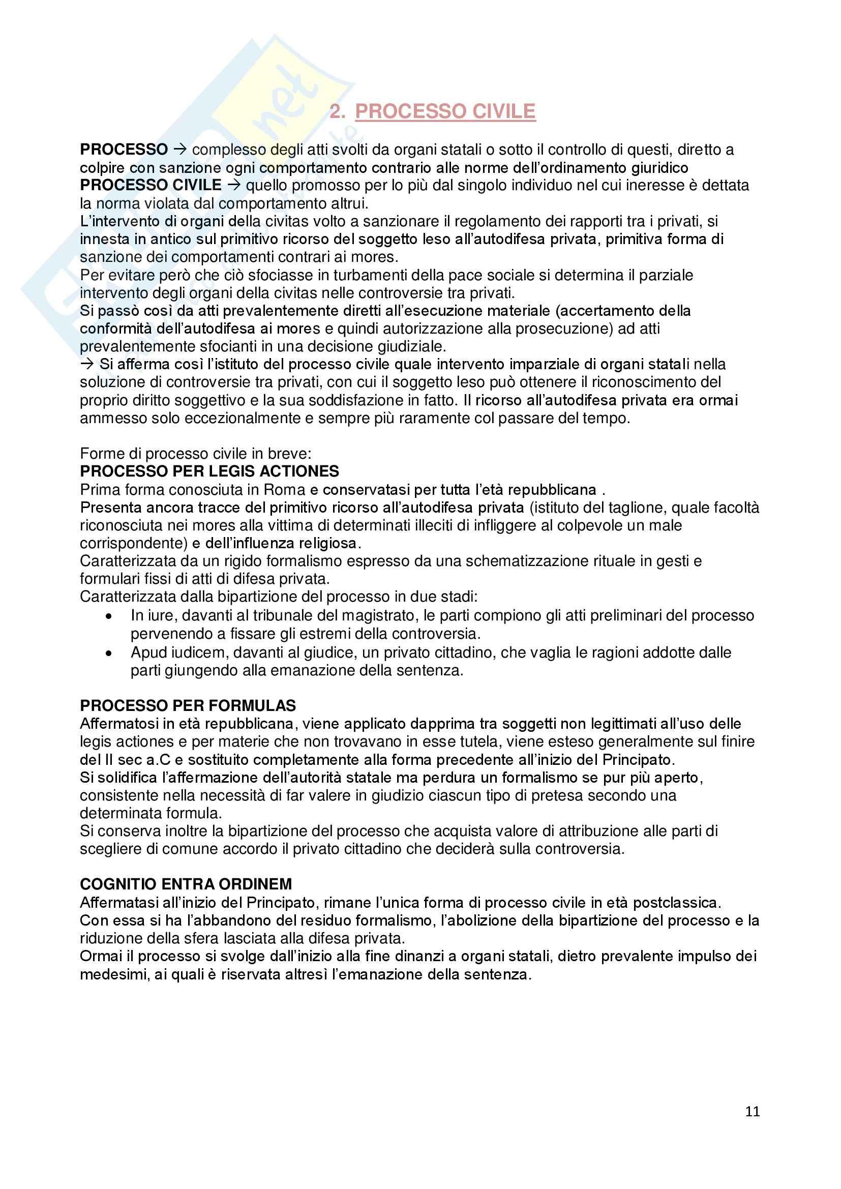 Riassunto esame Istituzioni di diritto romano, prof. Dalla Massara, libro consigliato Marrone Pag. 11