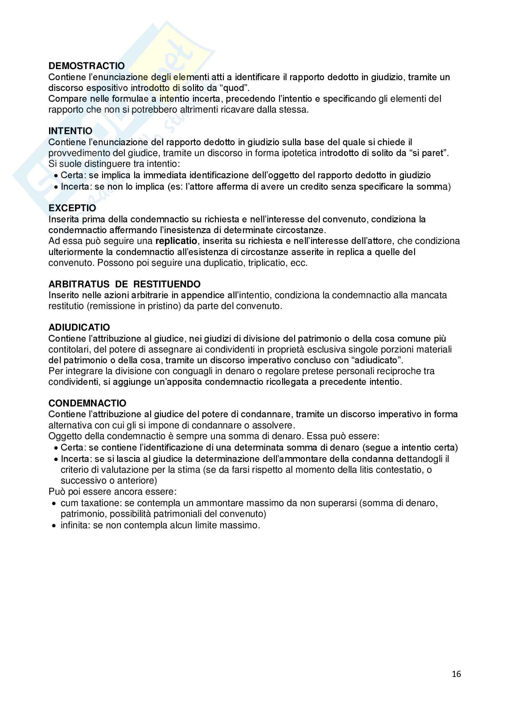 Riassunto esame Istituzioni di diritto romano, prof. Dalla Massara, libro consigliato Marrone Pag. 16