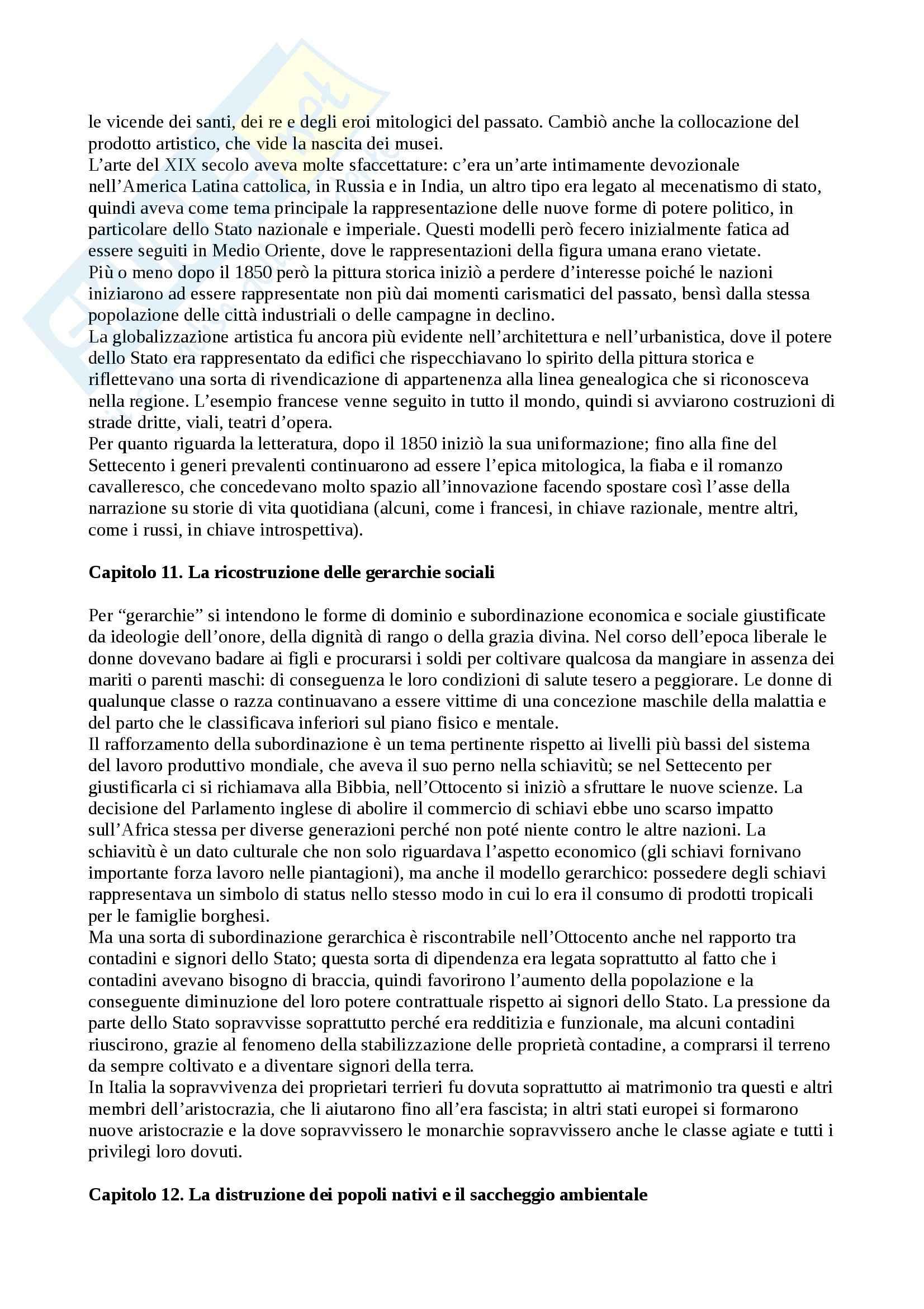 Riassunto esame Storia contemporanea, prof. Roccucci, libro consigliato La nascita dello Stato moderno, Bayly Pag. 11