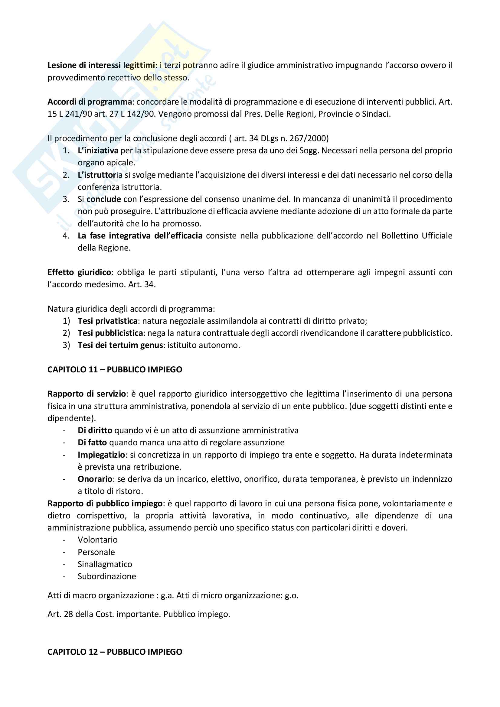 Riassunto di Diritto Amministrativo L18 Unipeg Pag. 16