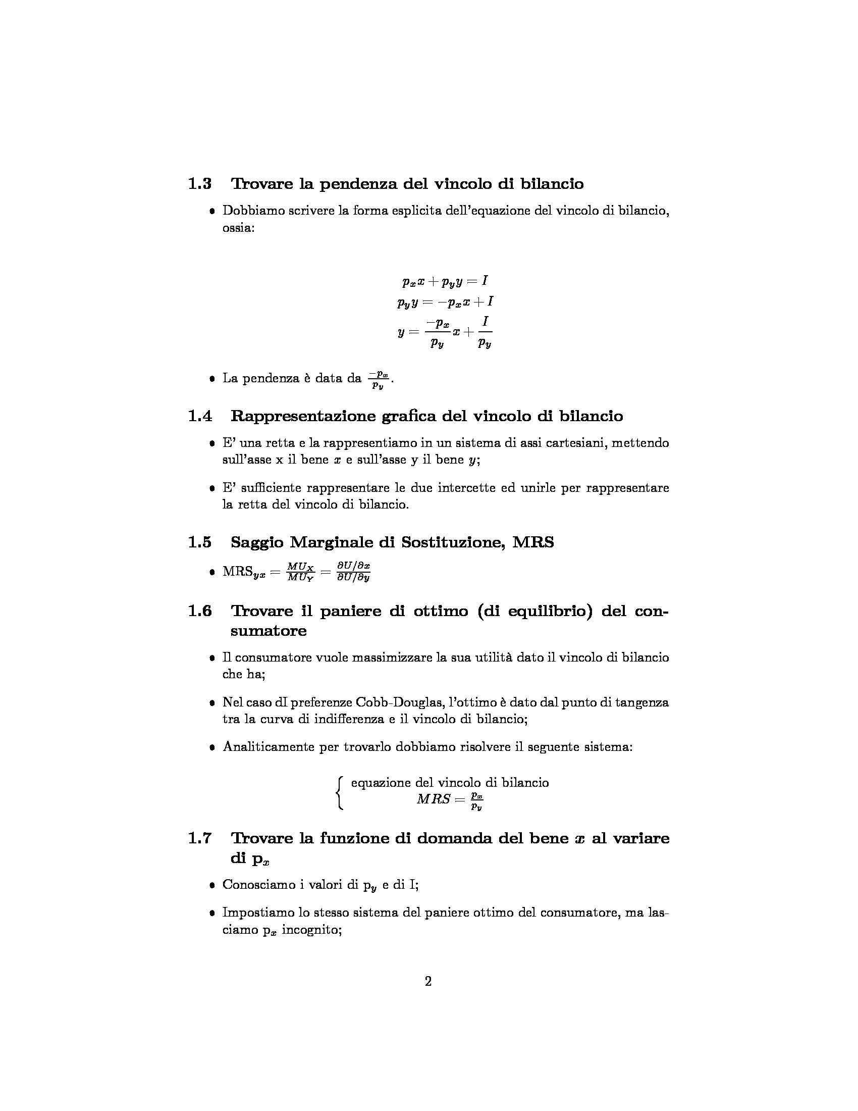 Microeconomia - Formulario Pag. 2
