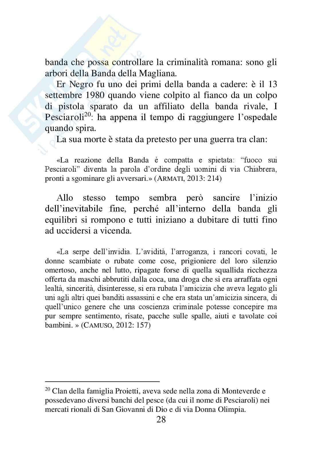 Dalla banda della Magliana al clan dei casalesi. Analisi diacronica del giornalismo di cronaca nera dal 1981 al 2014 Pag. 31