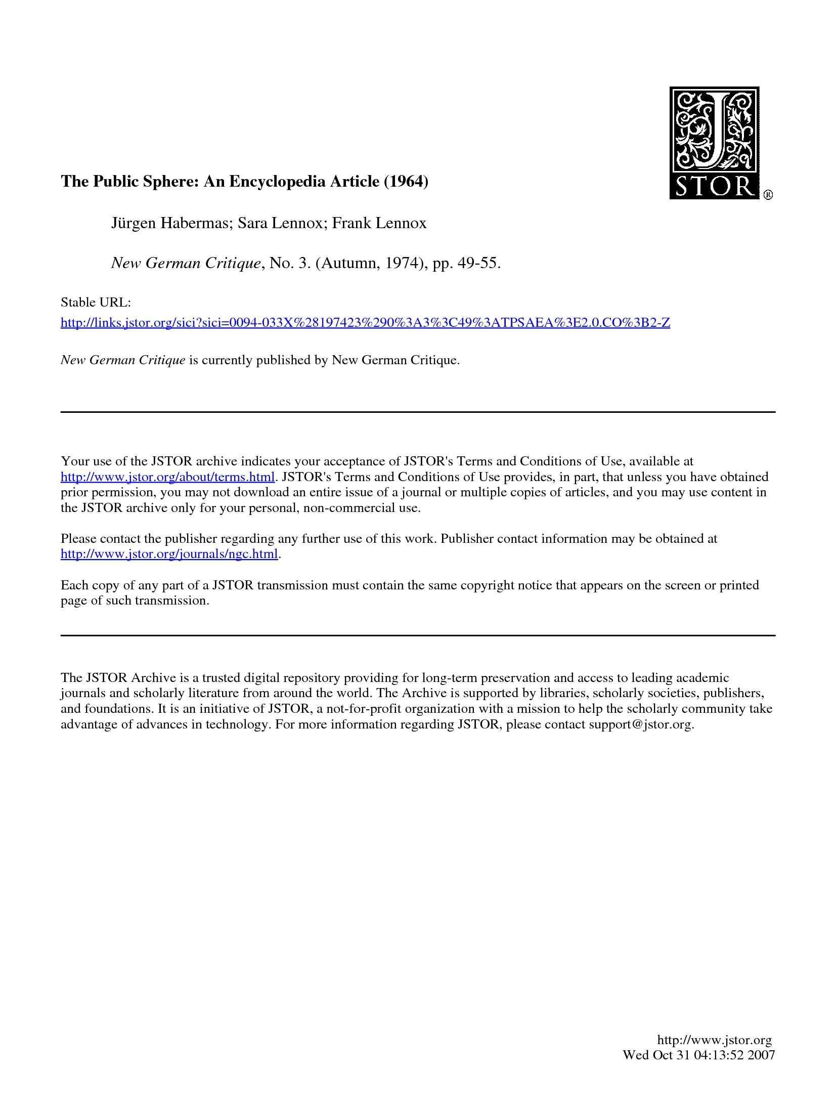 dispensa M. Barisone Analisi dell'opinione pubblica