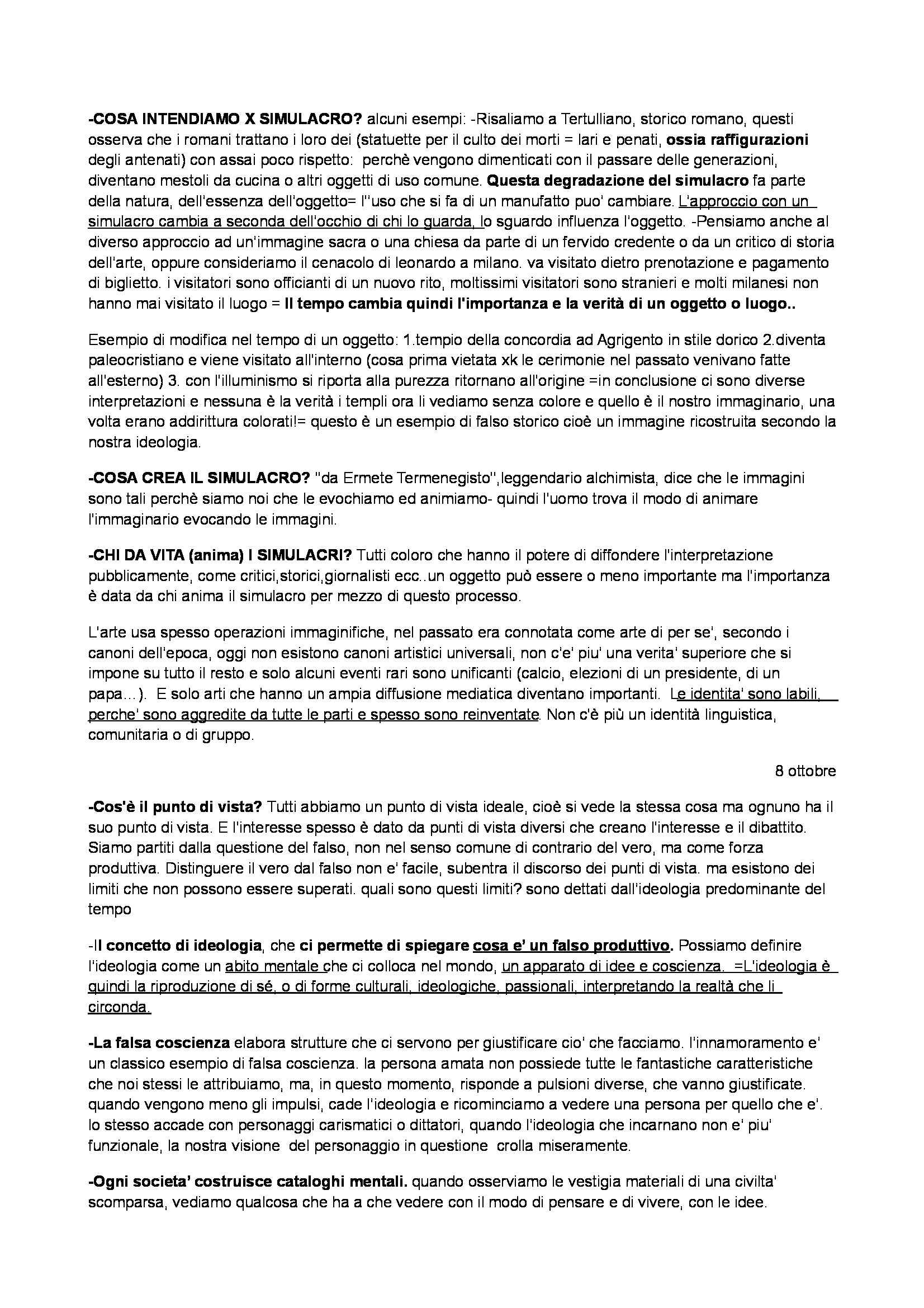 Estetica della comunicazione - Appunti Pag. 2