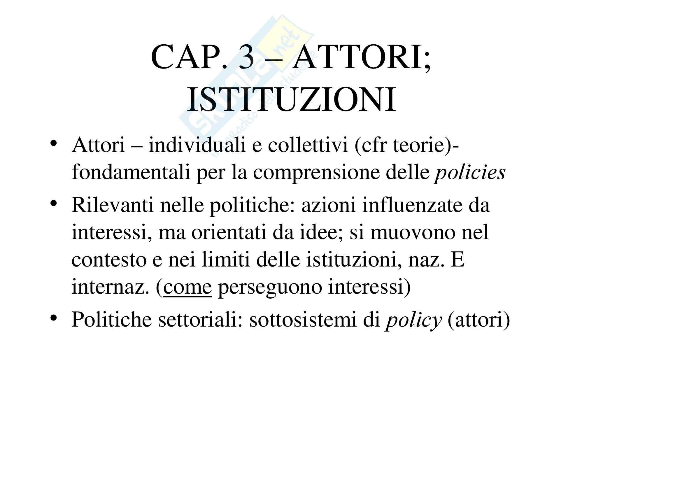 appunto R. Lewanski Analisi delle politiche pubbliche