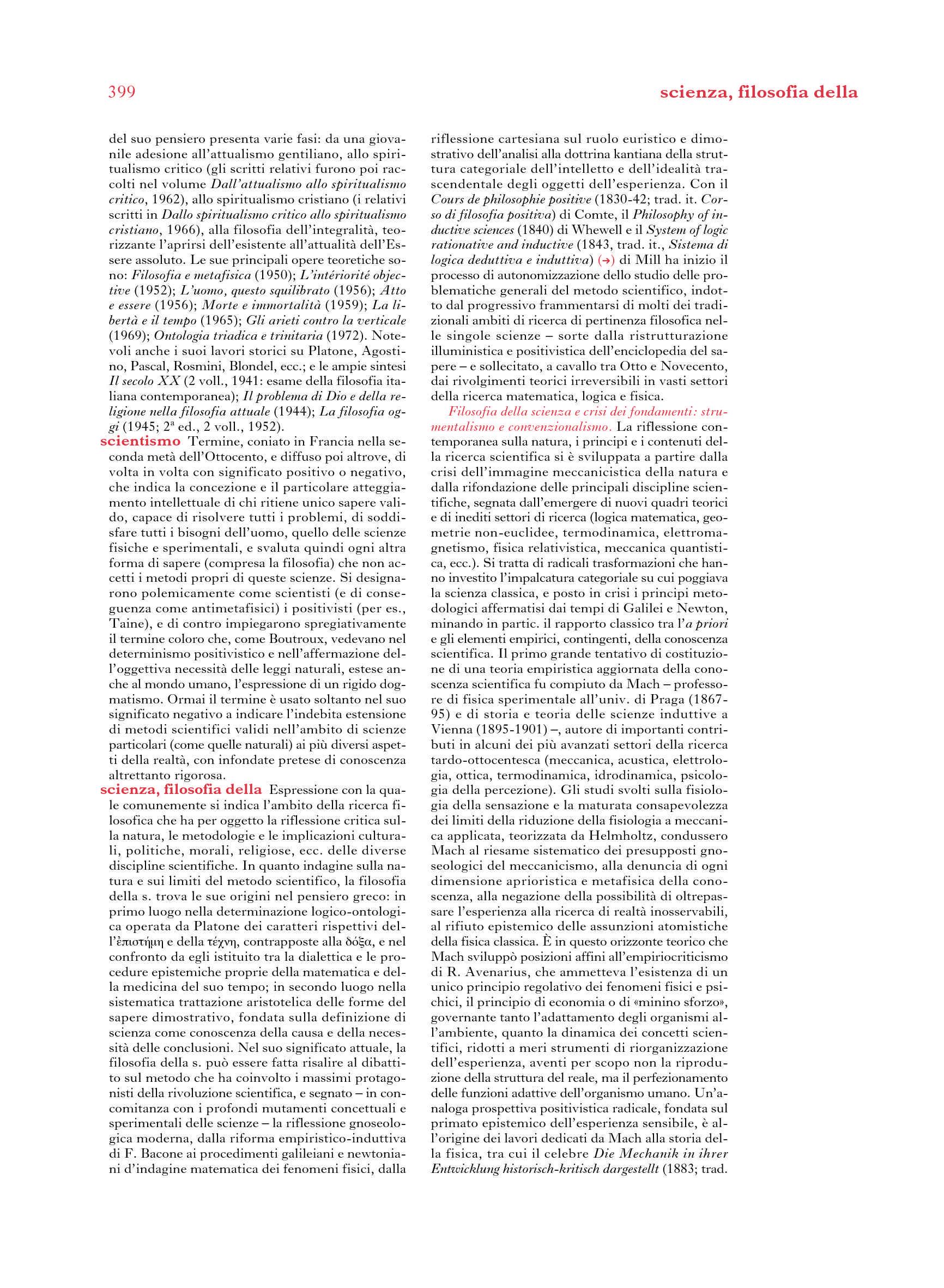Filosofia della scienza - Crisi dei fondamenti