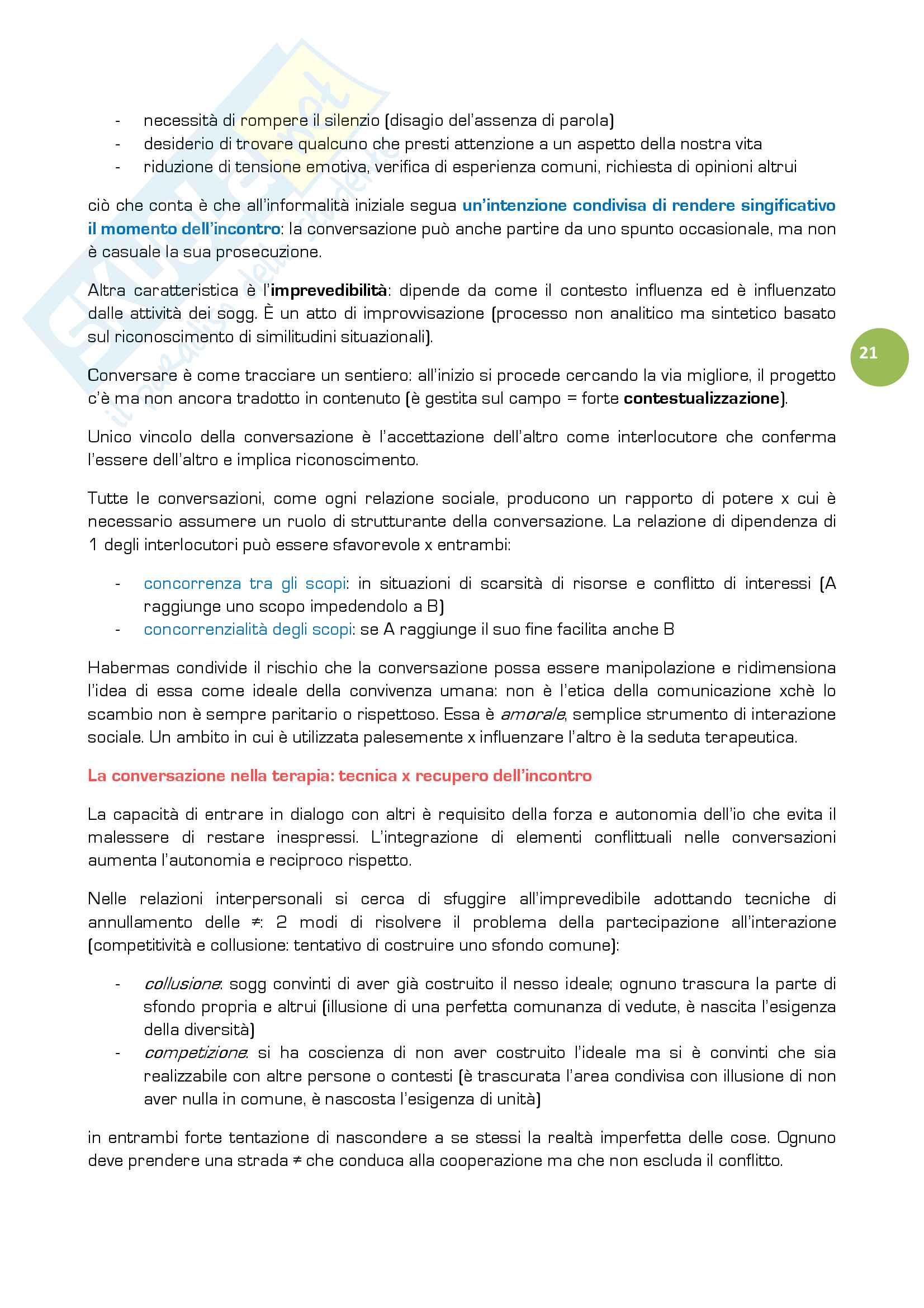 Riassunto esame Educazione degli adulti, prof. Mariani, libro consigliato Educazione informale tra adulti, Mariani Pag. 21