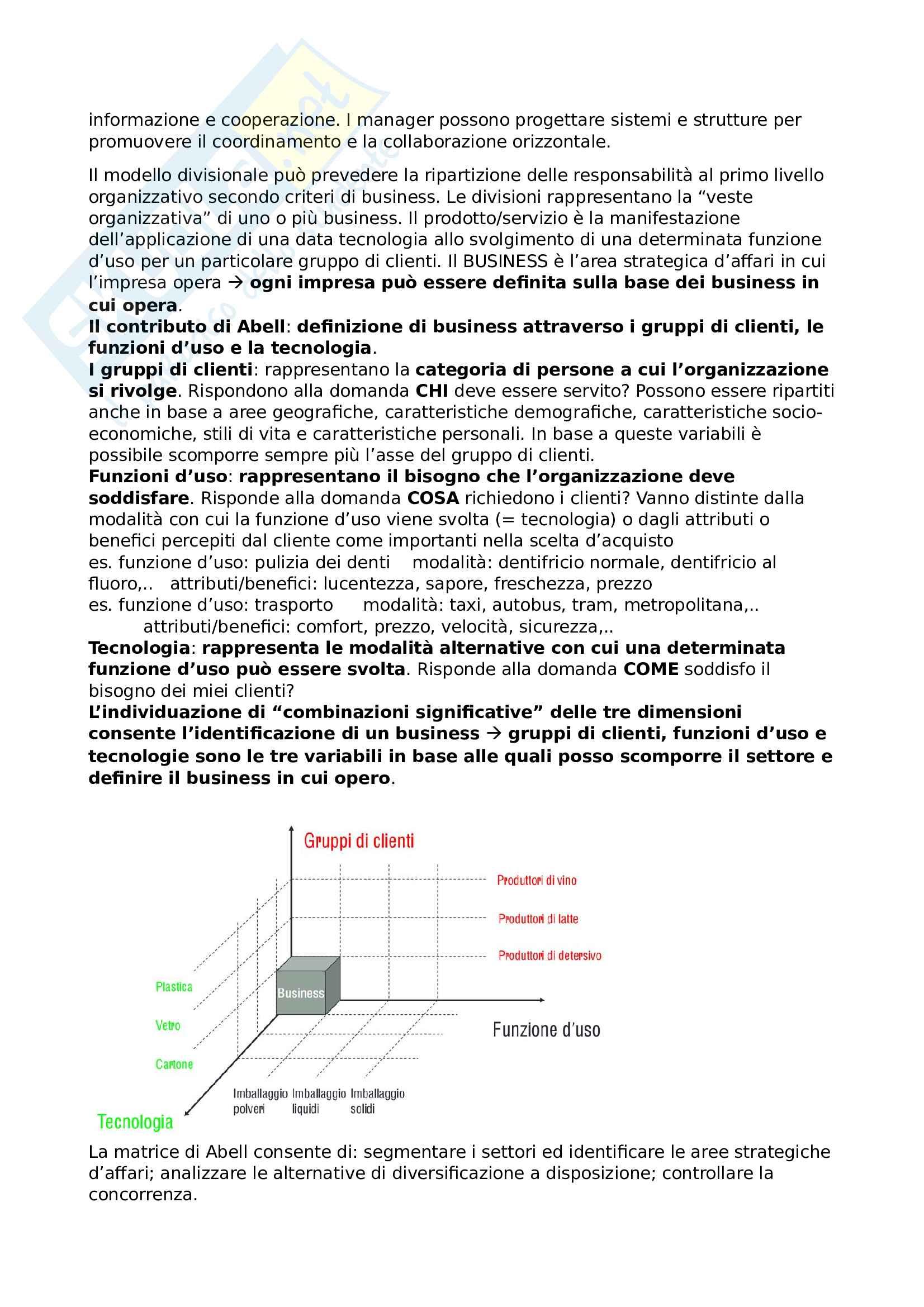 Riassunto esame Organizzazione aziendale Pag. 26